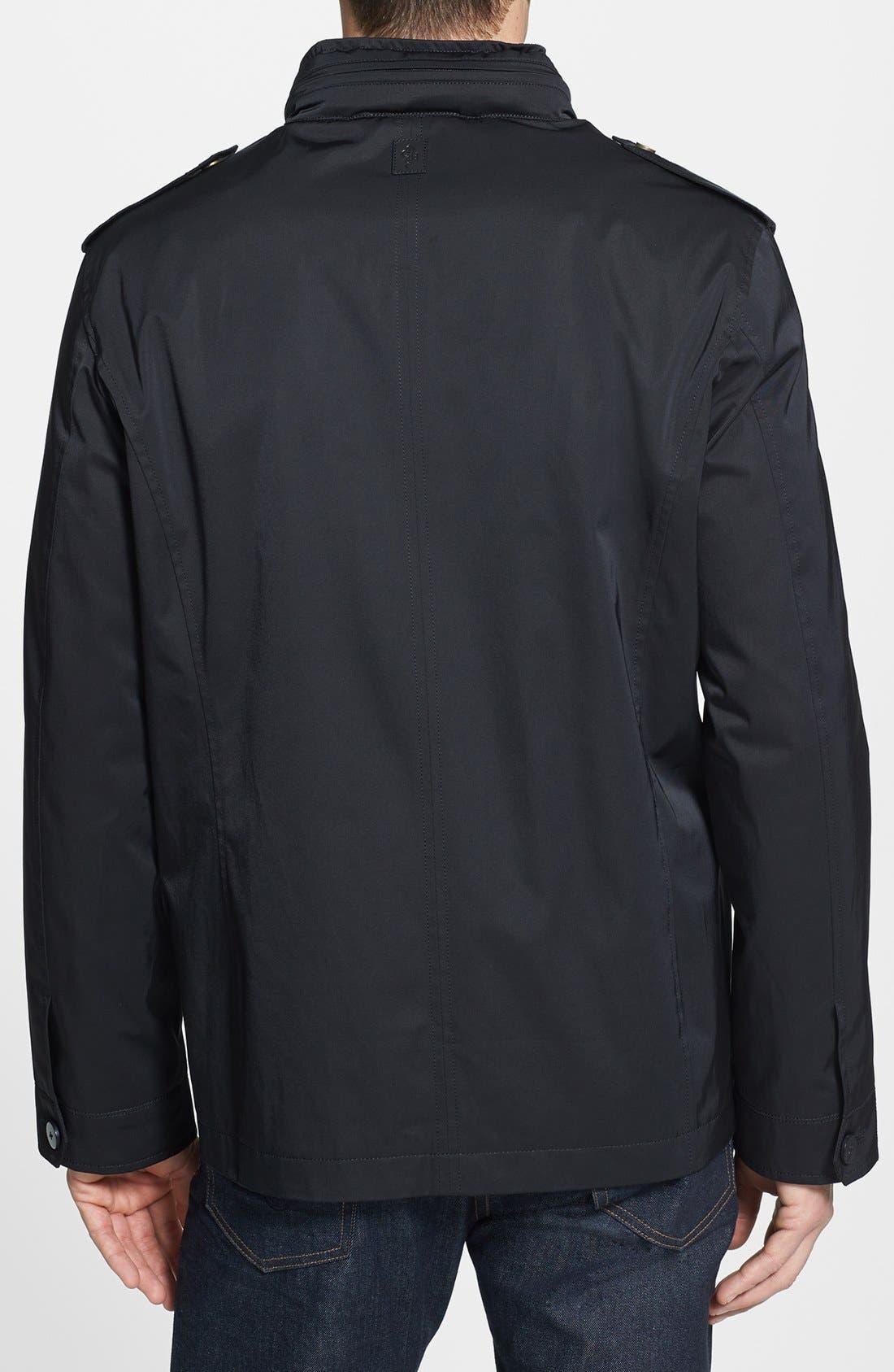 Alternate Image 2  - Cole Haan Water Resistant Coated Field Jacket