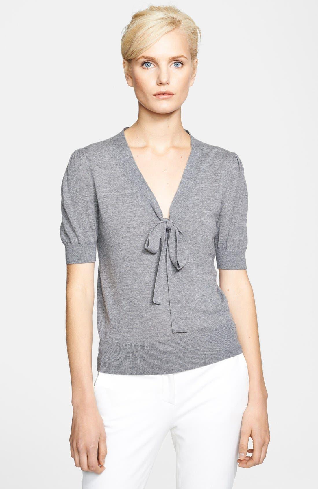 Alternate Image 1 Selected - Michael Kors Merino Wool Pullover