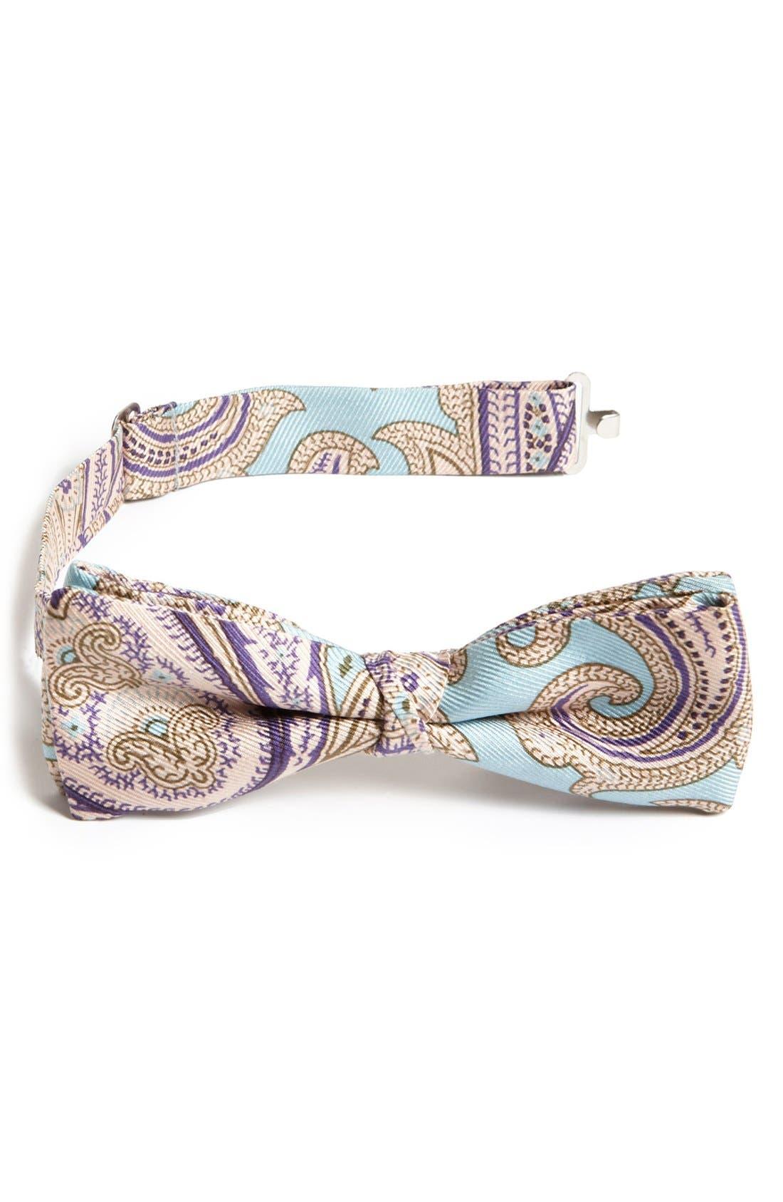 Alternate Image 1 Selected - Etro Paisley Silk Bow Tie