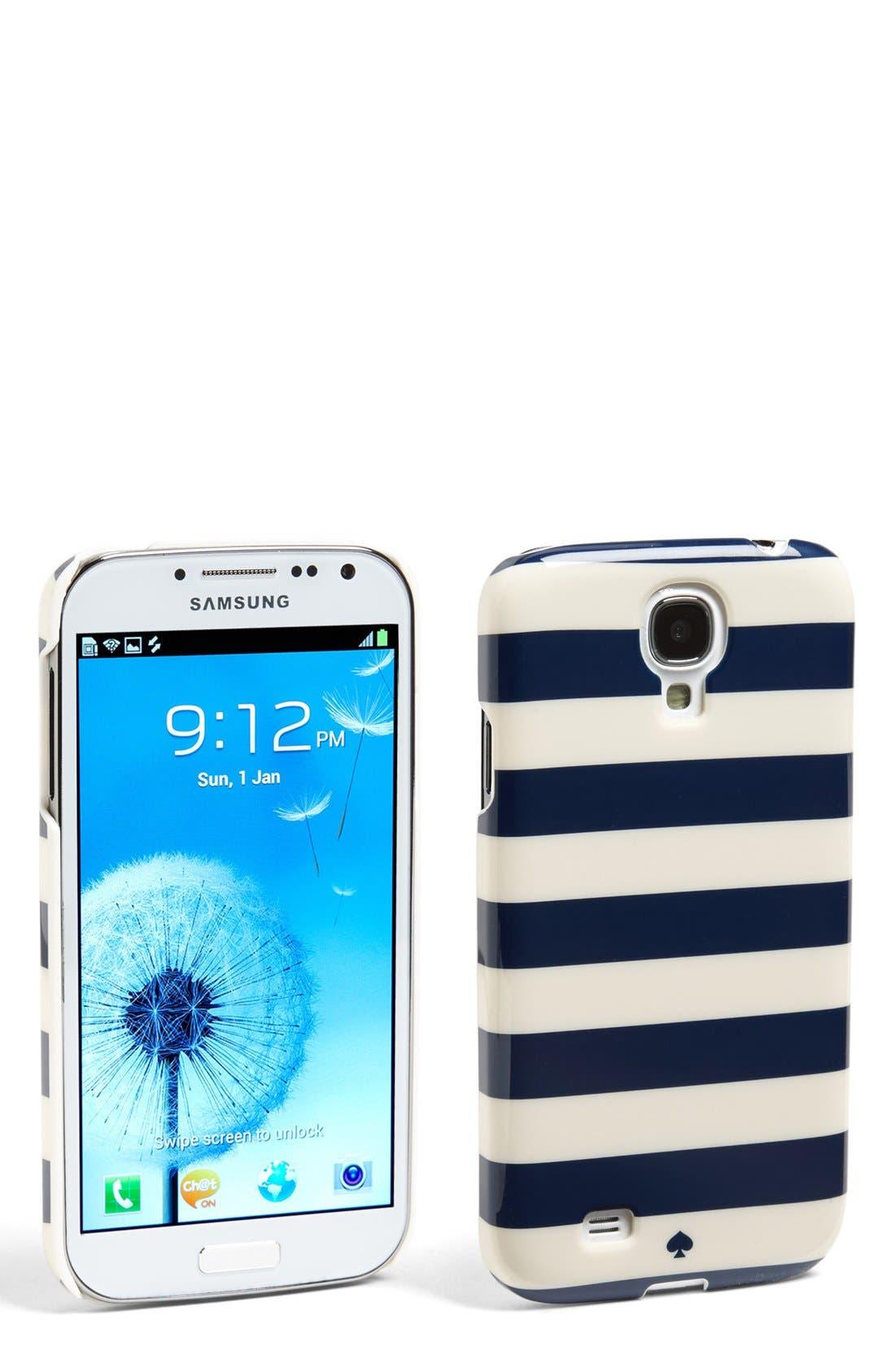Alternate Image 1 Selected - kate spade new york 'jewel stripe' Samsung Galaxy S® 4 case