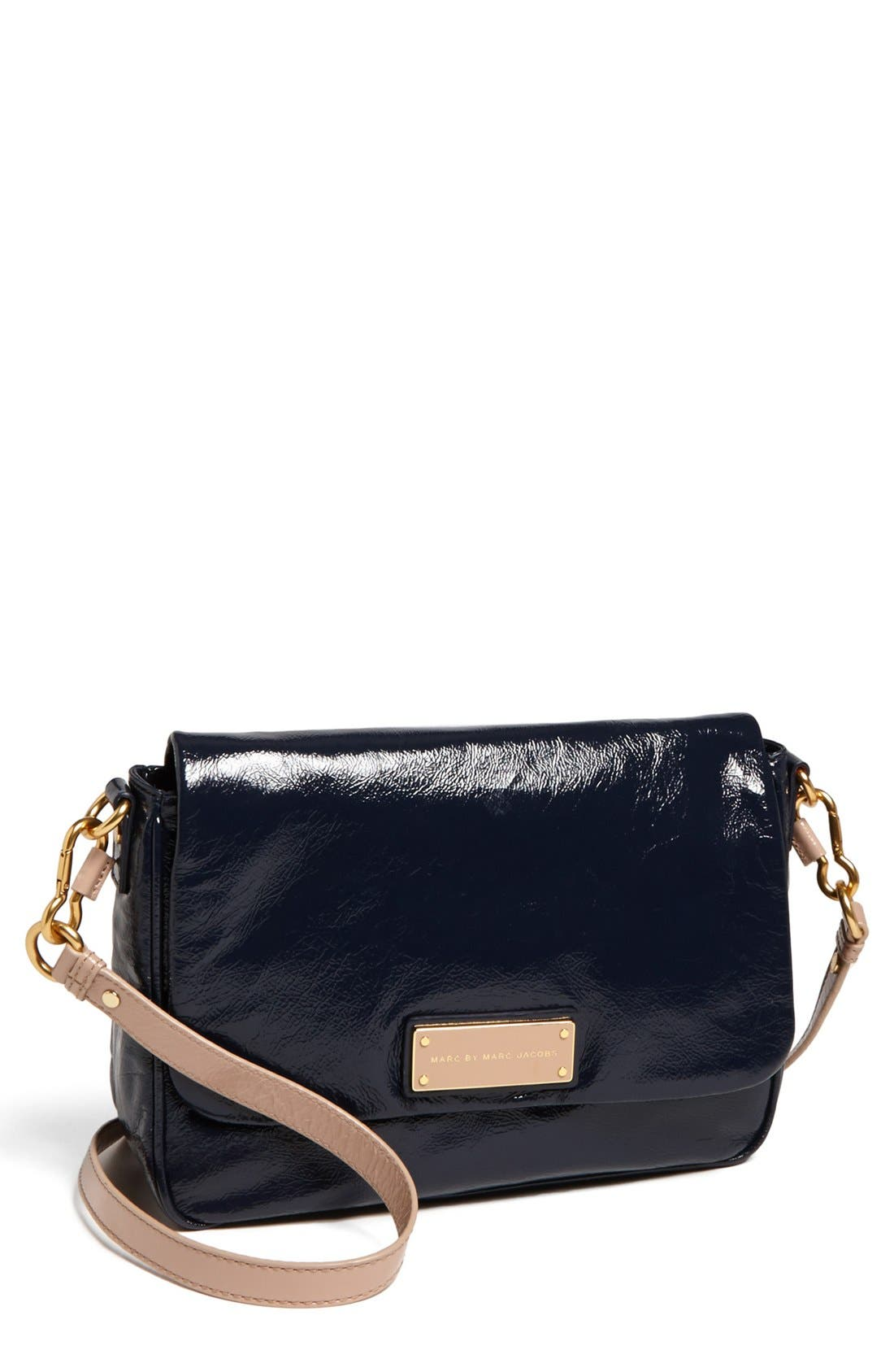 Alternate Image 1 Selected - MARC BY MARC JACOBS 'Lea' Glazed Crossbody Flap Bag