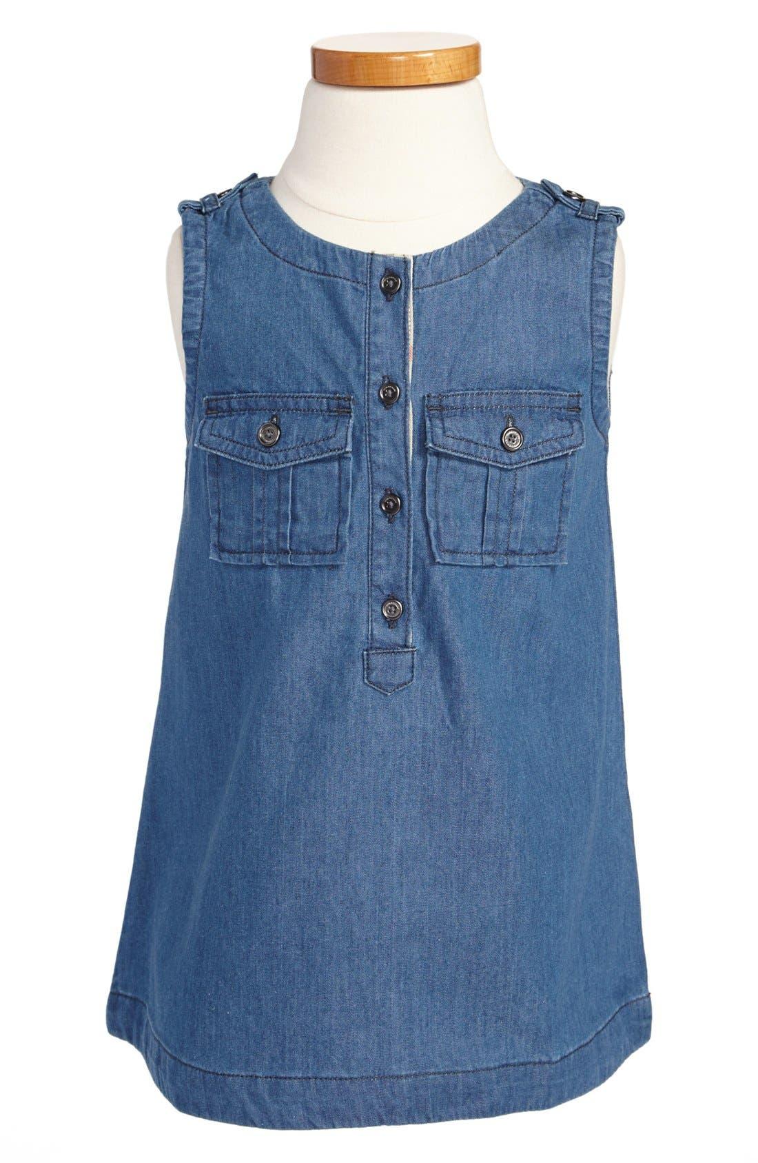 Alternate Image 1 Selected - Burberry 'Josephine' Dress (Toddler Girls)