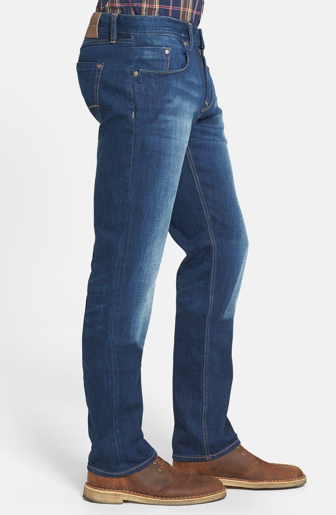 Alternate Image 3  - Robert Graham 'Upside Down' Slim Fit Straight Leg Jeans