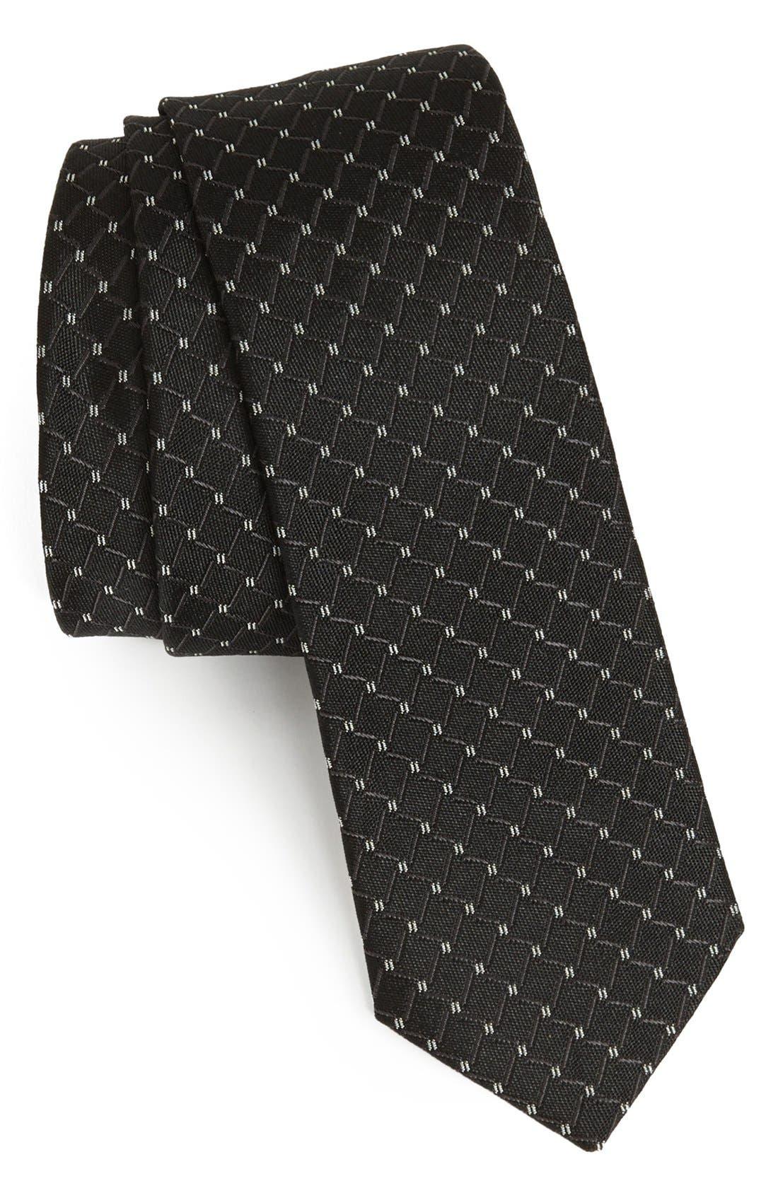 Alternate Image 1 Selected - Dolce&Gabbana Martini Weave Silk Tie