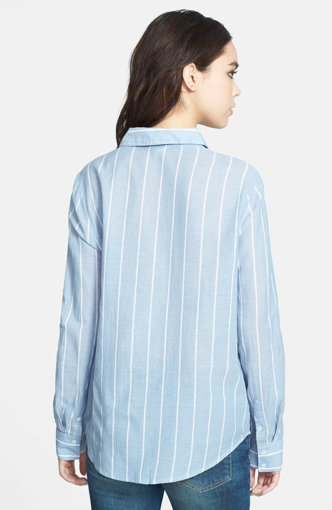 Alternate Image 2  - Soft Joie 'Annabella' Stripe Cotton Shirt