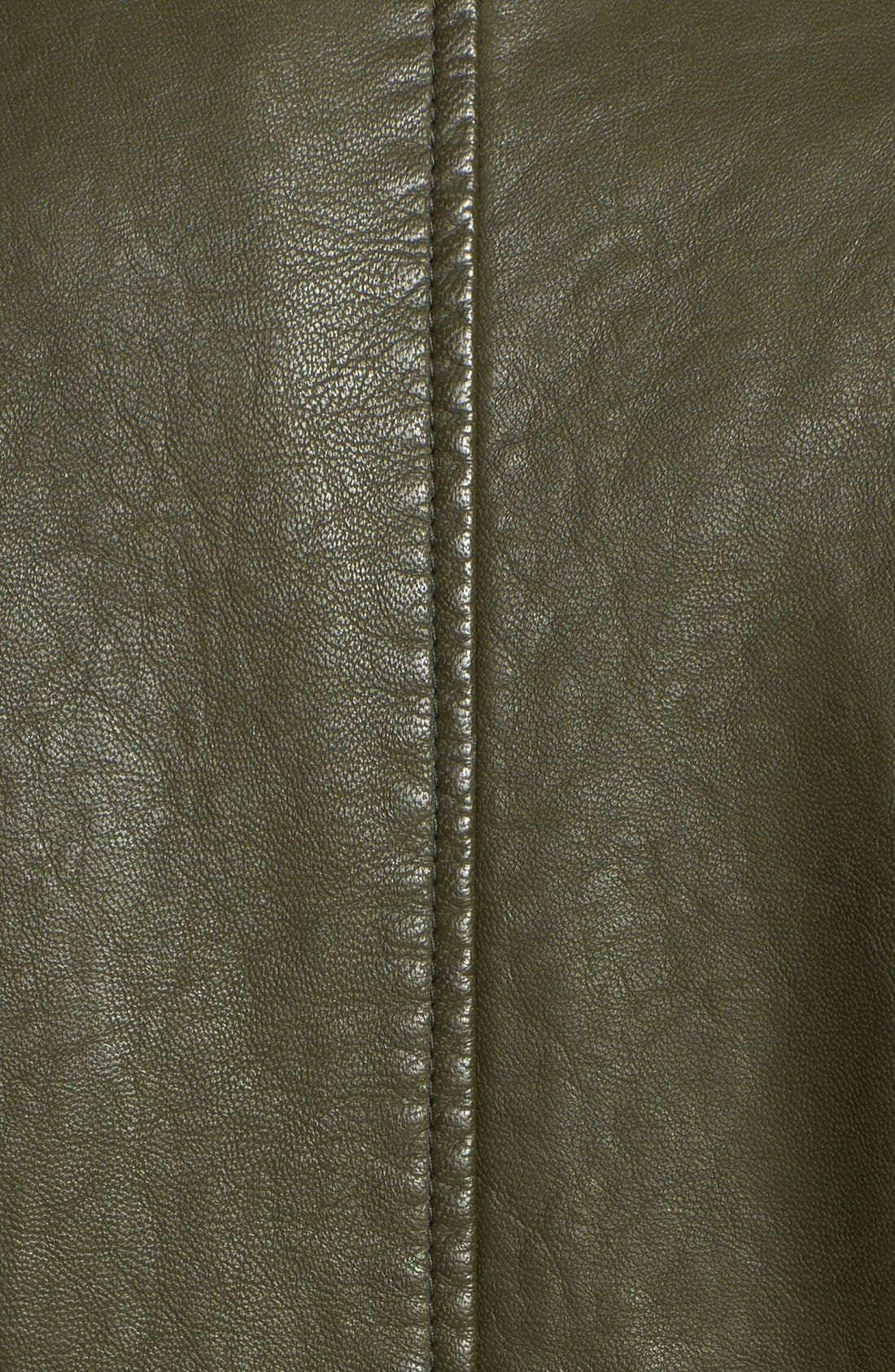 Alternate Image 3  - BB Dakota 'Eureka' Faux Leather Long Coat