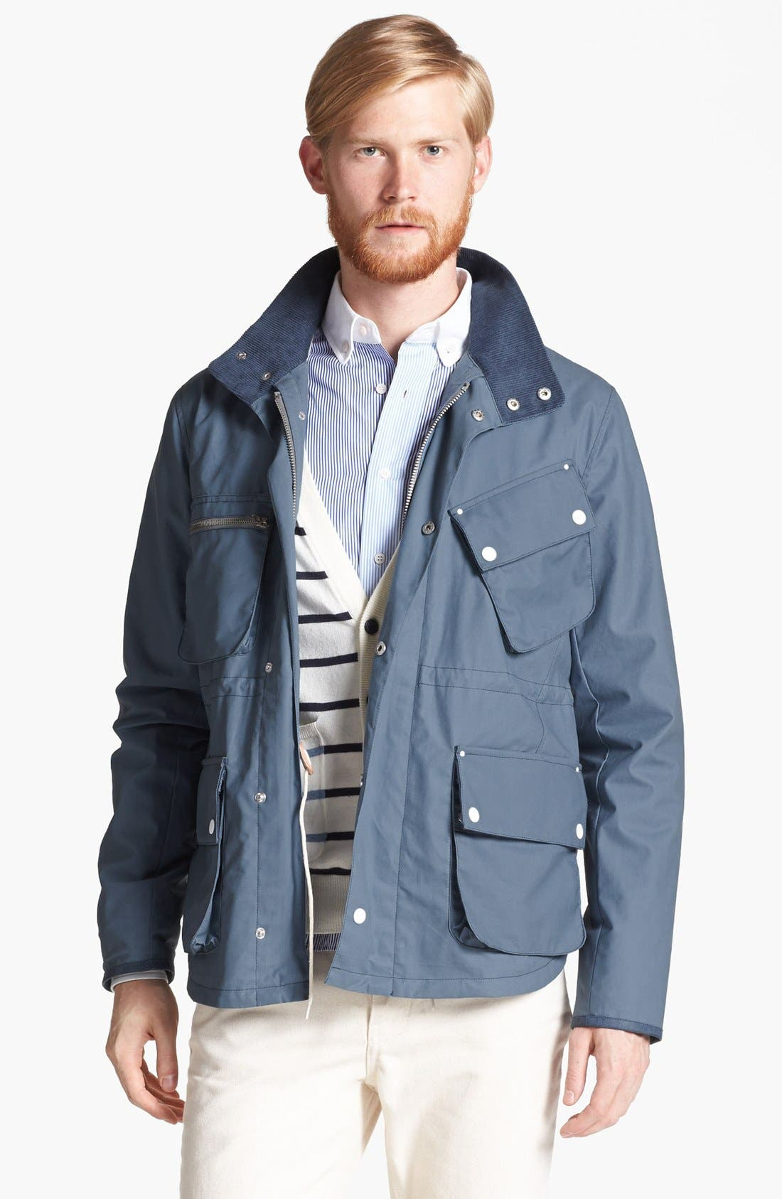 Alternate Image 1 Selected - Shipley & Halmos 'Fin' Coated Field Jacket