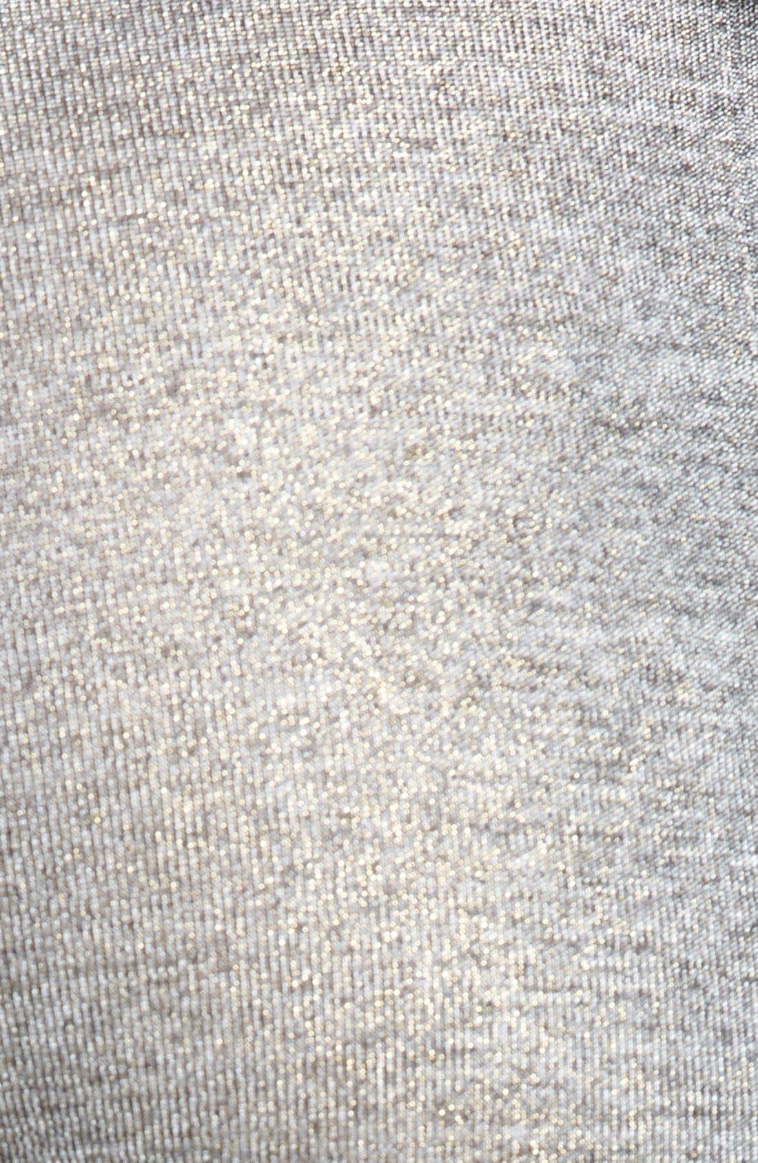 Alternate Image 3  - Knot Sisters Metallic Knit Leggings