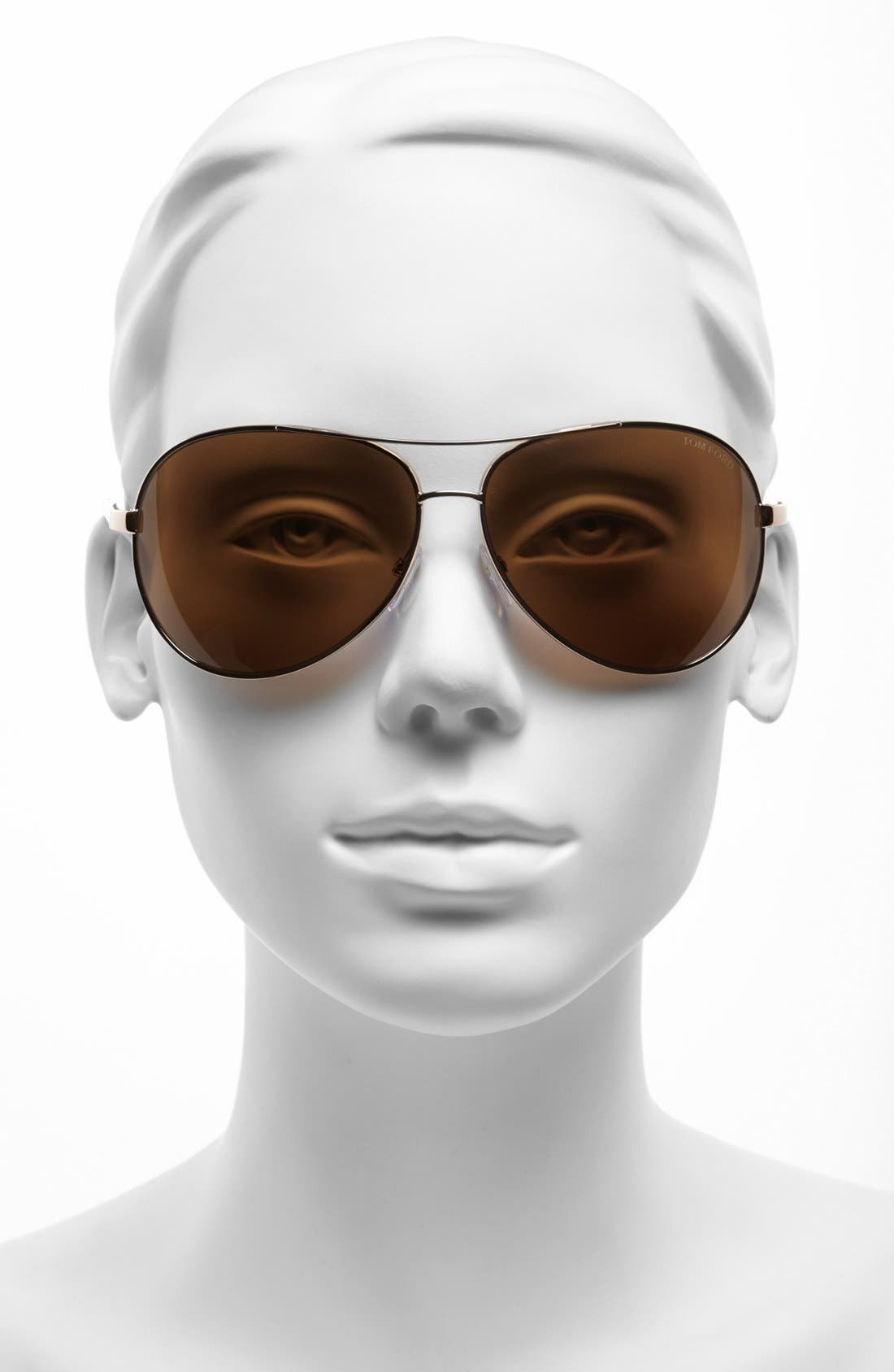 Alternate Image 2  - Tom Ford 'Charles' 62mm Polarized Sunglasses