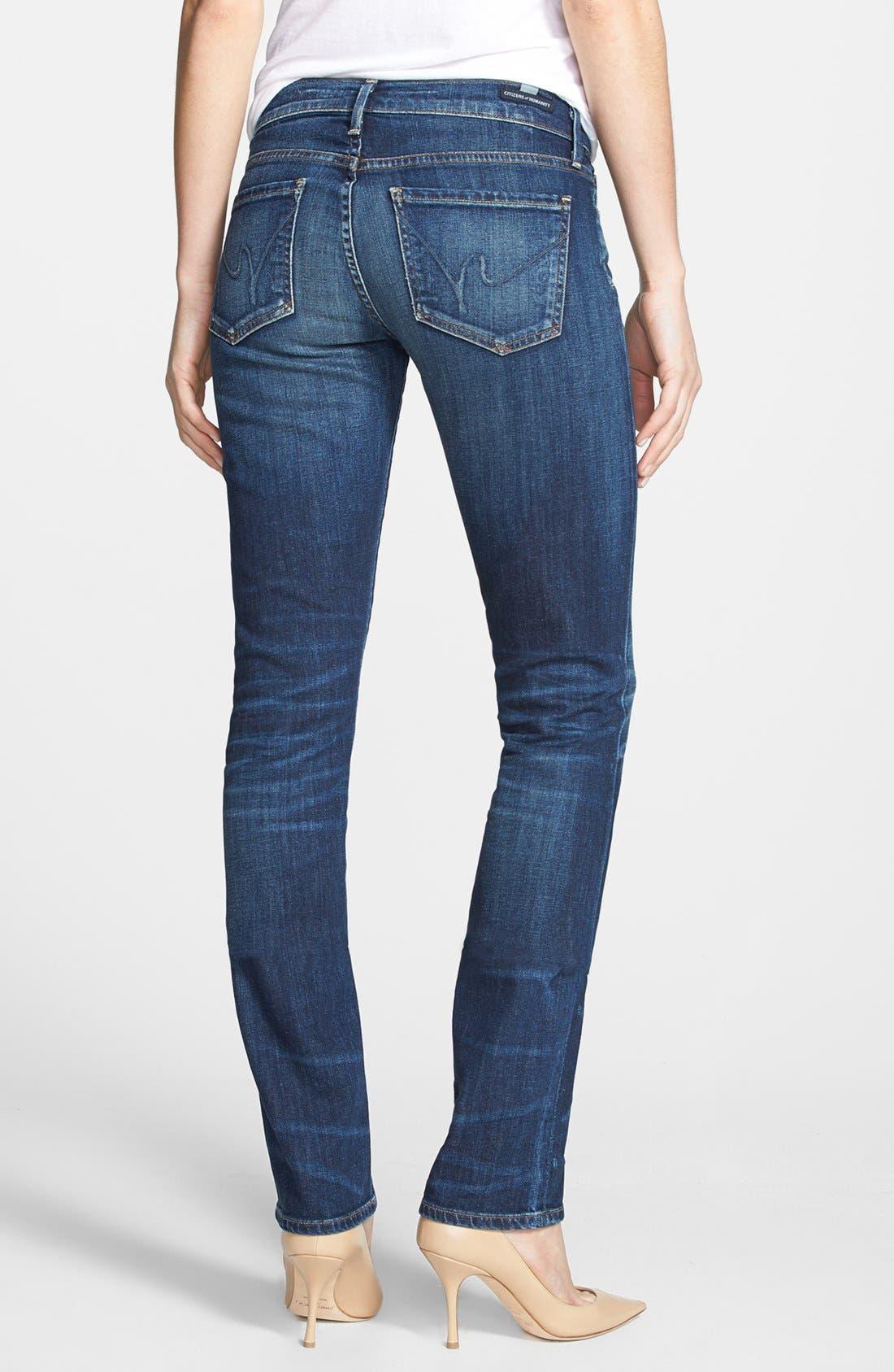Alternate Image 2  - Citizens of Humanity 'Ava' Straight Leg Jeans (Patina)