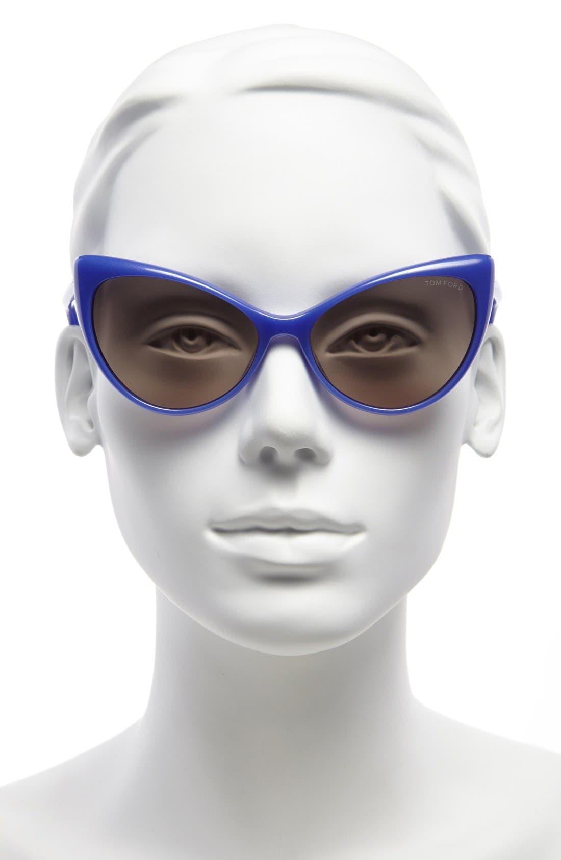 Alternate Image 2  - Tom Ford 'Anastasia' 55mm Retro Sunglasses