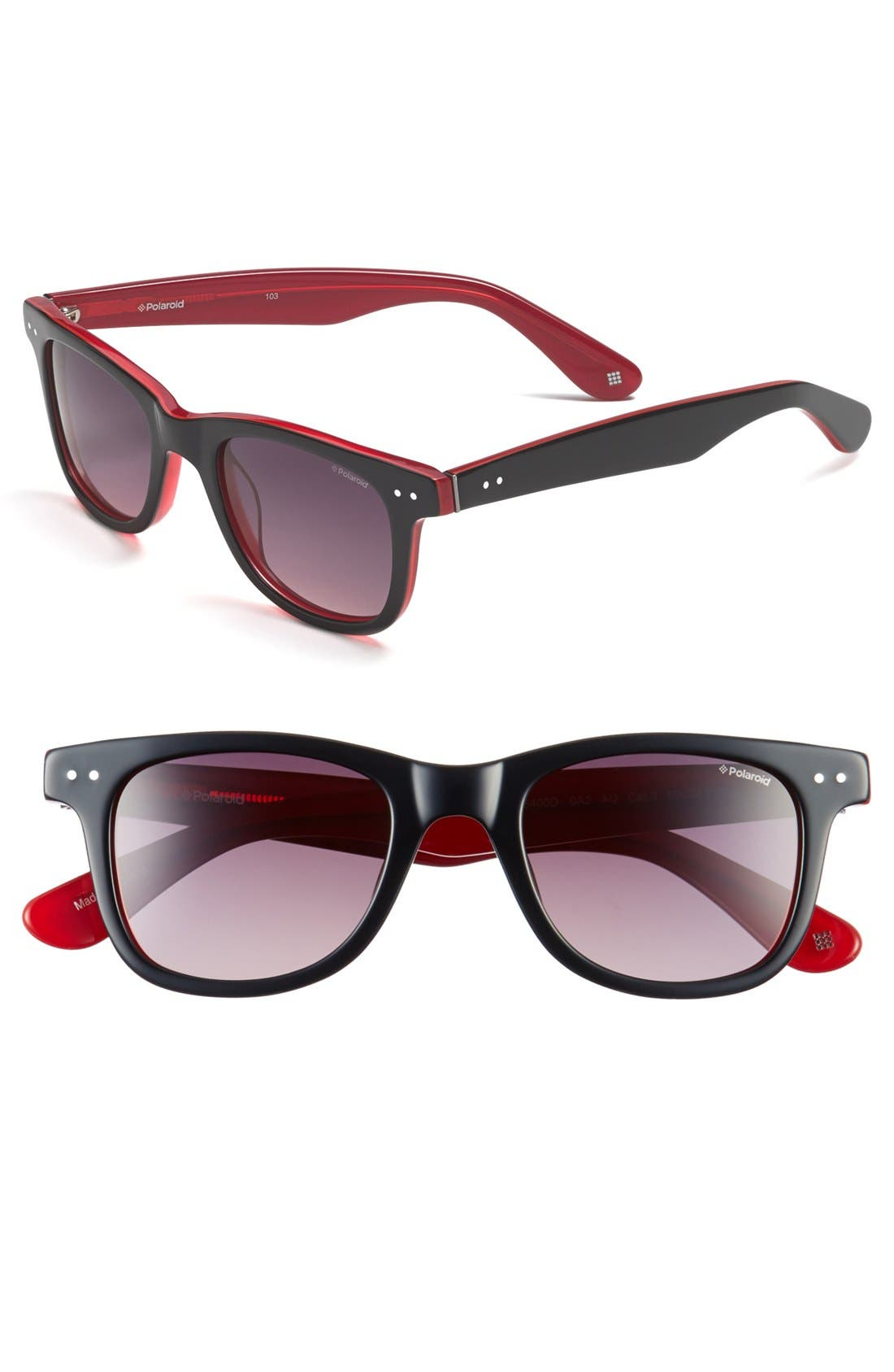 Main Image - Polaroid Eyewear 50mm Retro Polarized Sunglasses