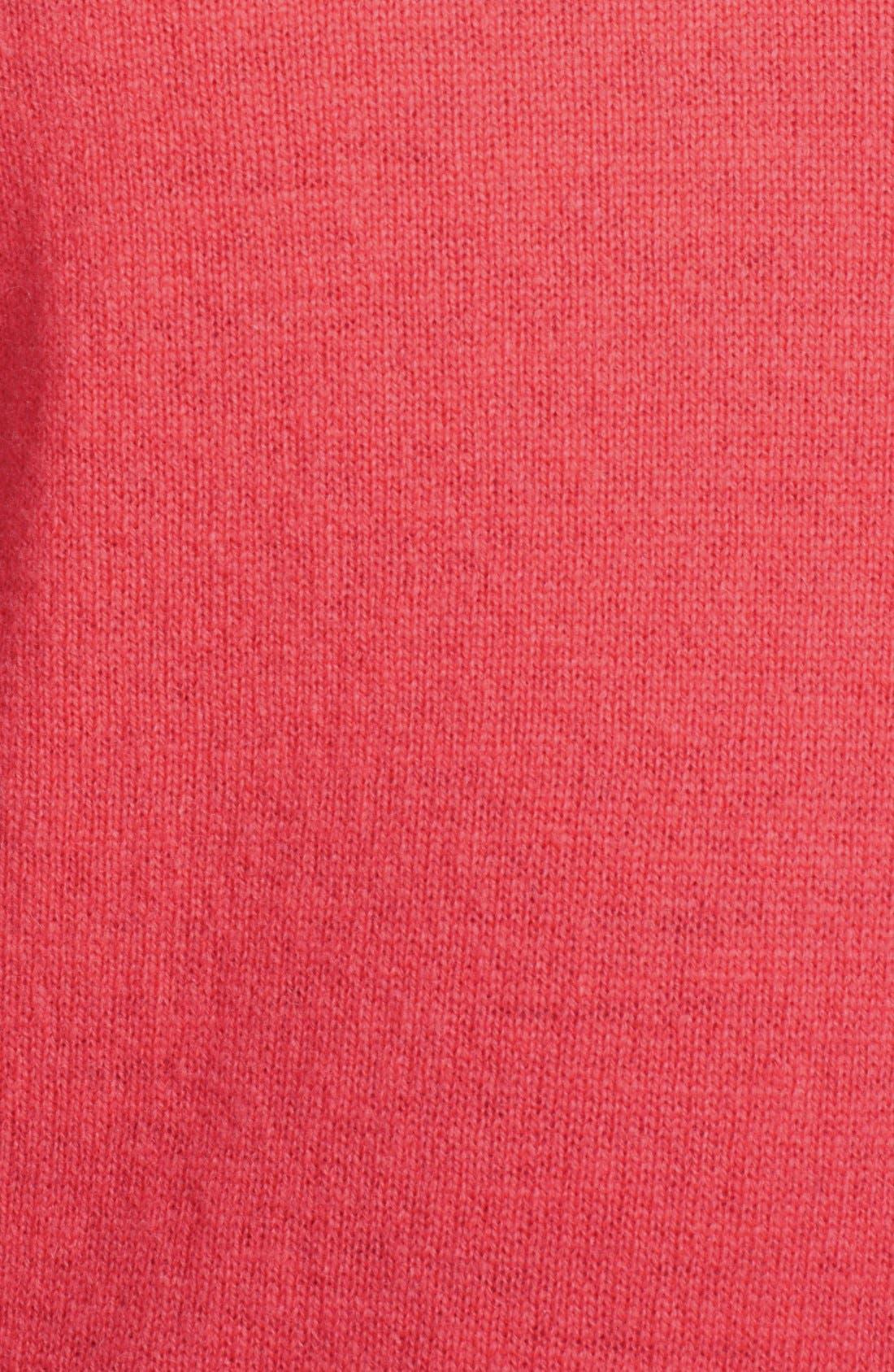 Alternate Image 3  - autumn cashmere Colorblock Cashmere Hoodie