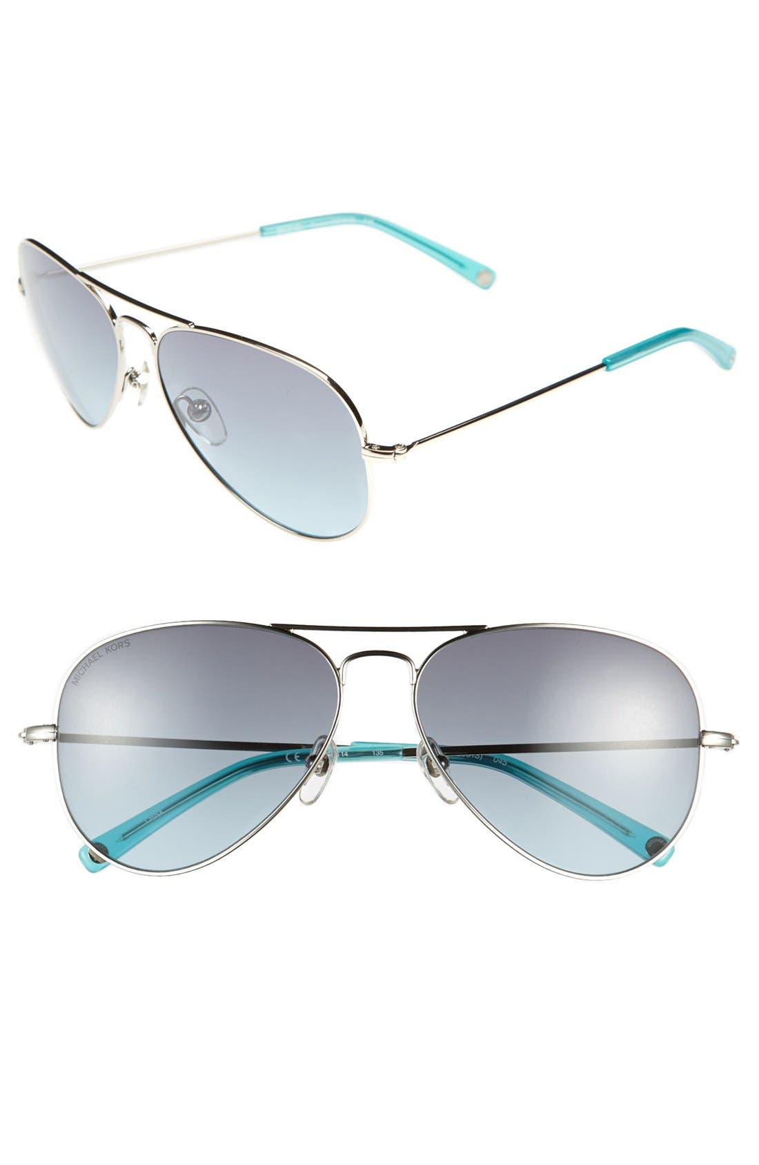 Alternate Image 1 Selected - MICHAEL Michael Kors 'Rachel' 58mm Sunglasses
