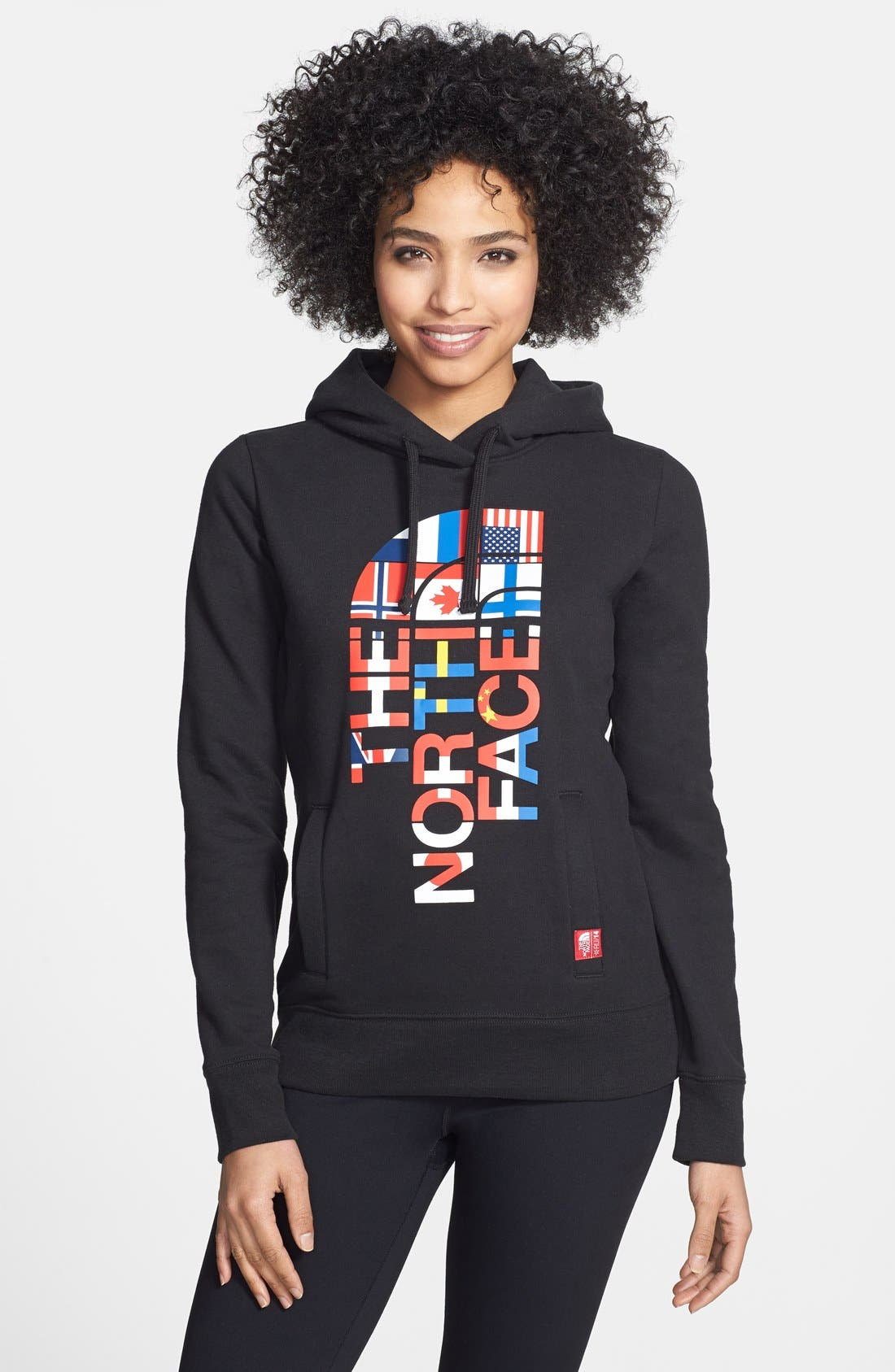 Alternate Image 1 Selected - The North Face Logo Hoodie