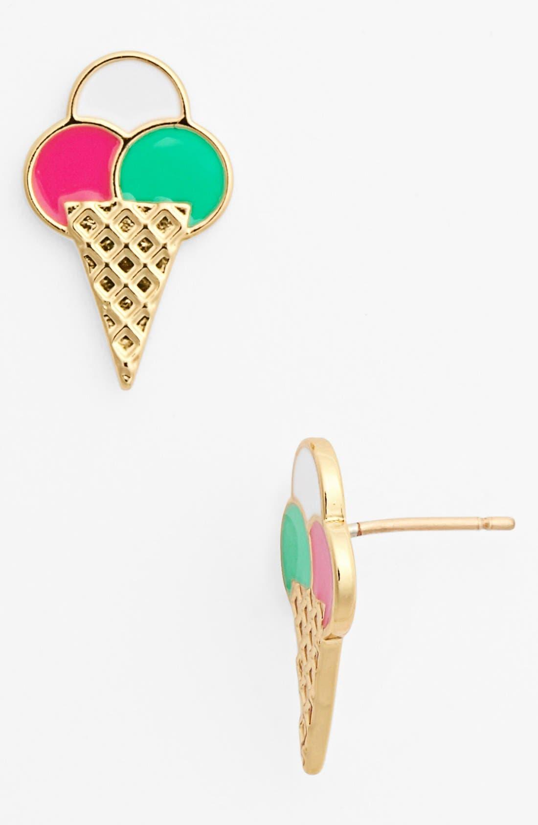 Alternate Image 1 Selected - kate spade new york 'sweet treat' ice cream stud earrings