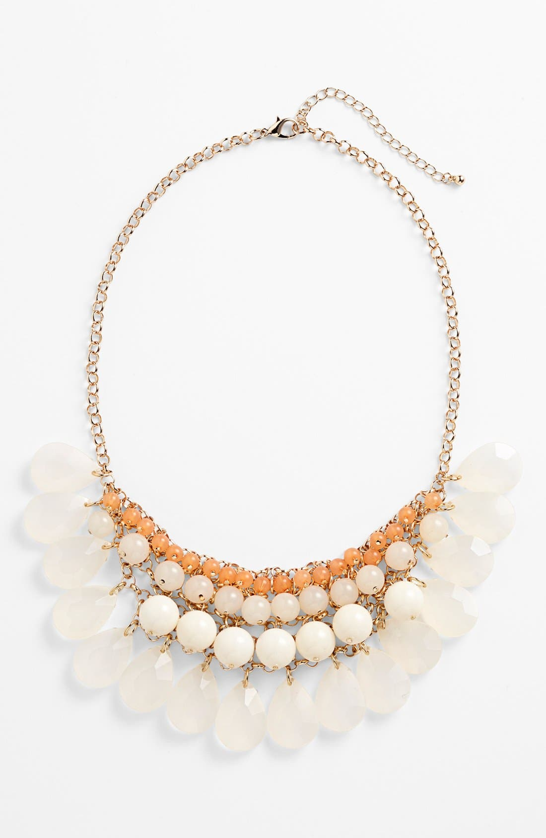 Alternate Image 1 Selected - BP. Layered Statement Necklace (Juniors)