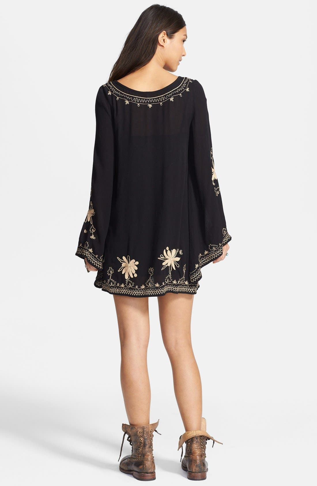 Alternate Image 2  - Free People Embroidered Gauze Dress