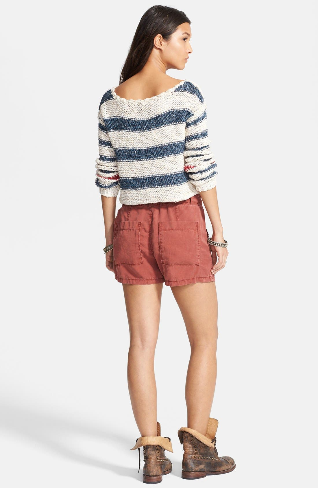 Alternate Image 2  - Free People 'Sailor Song' Stripe Pullover