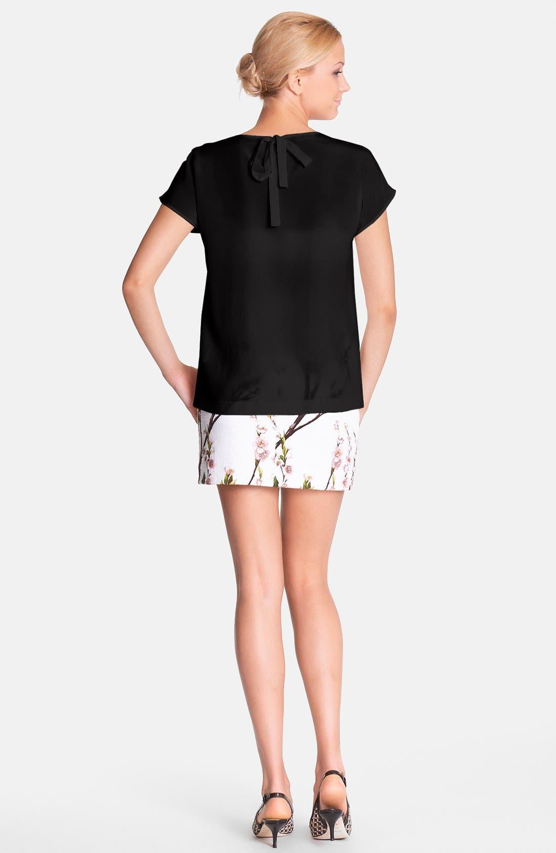 Alternate Image 2  - Dolce&Gabbana Silk Blouse