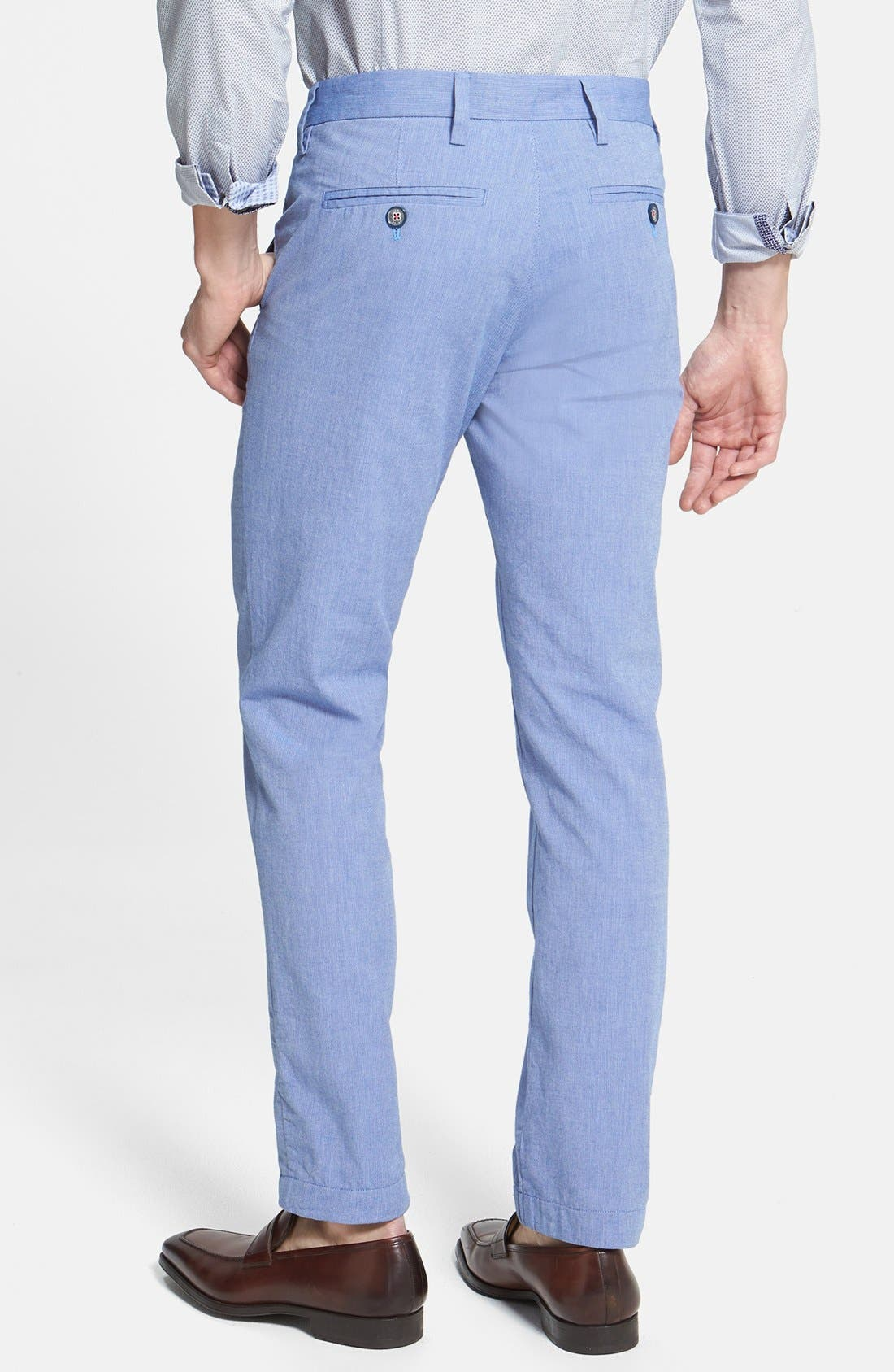Alternate Image 2  - Ted Baker London 'Mayhim' Slim Fit Chino Trousers
