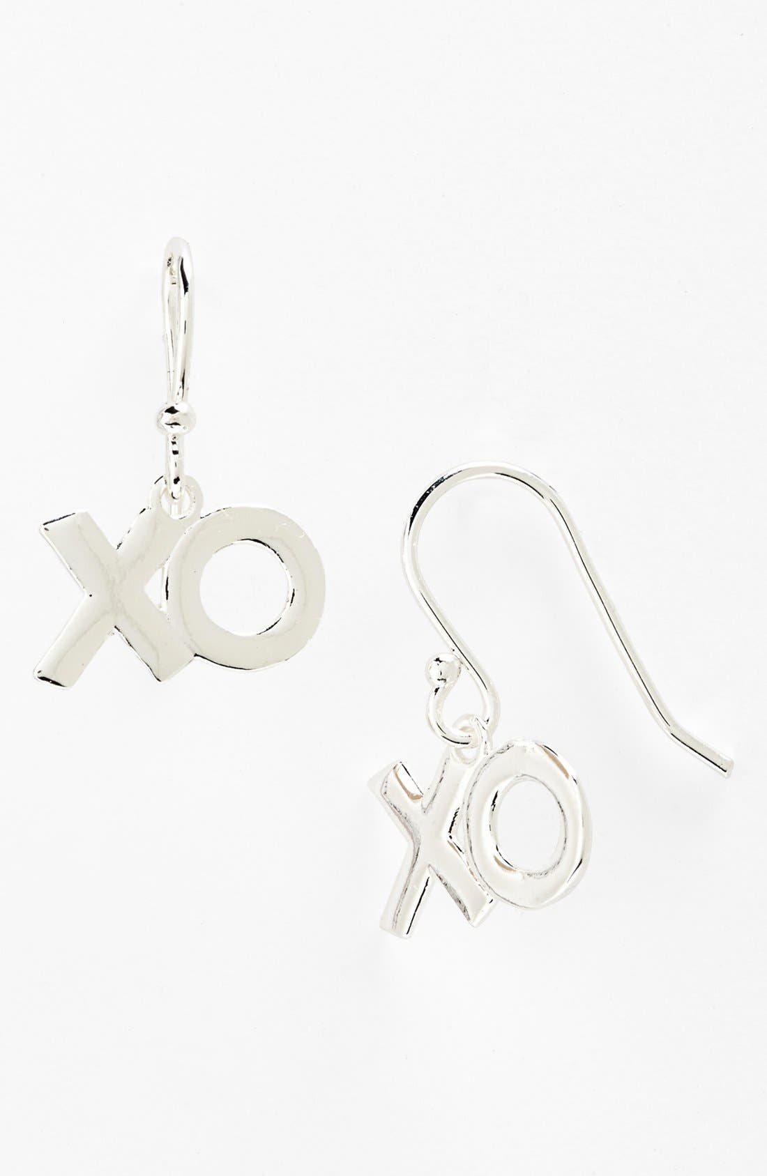 Main Image - Tomas 'XO' Dangle Earrings (Juniors)