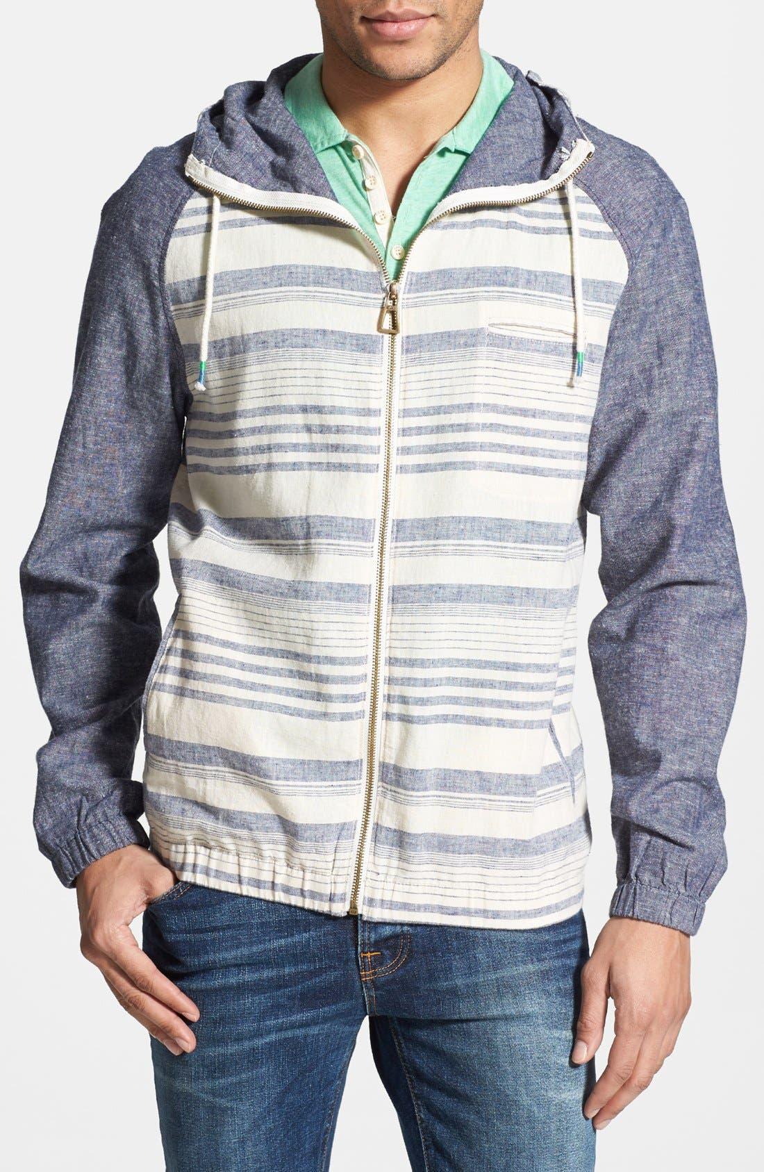 Main Image - Howe 'Glory Sequence' Zip Hooded Jacket