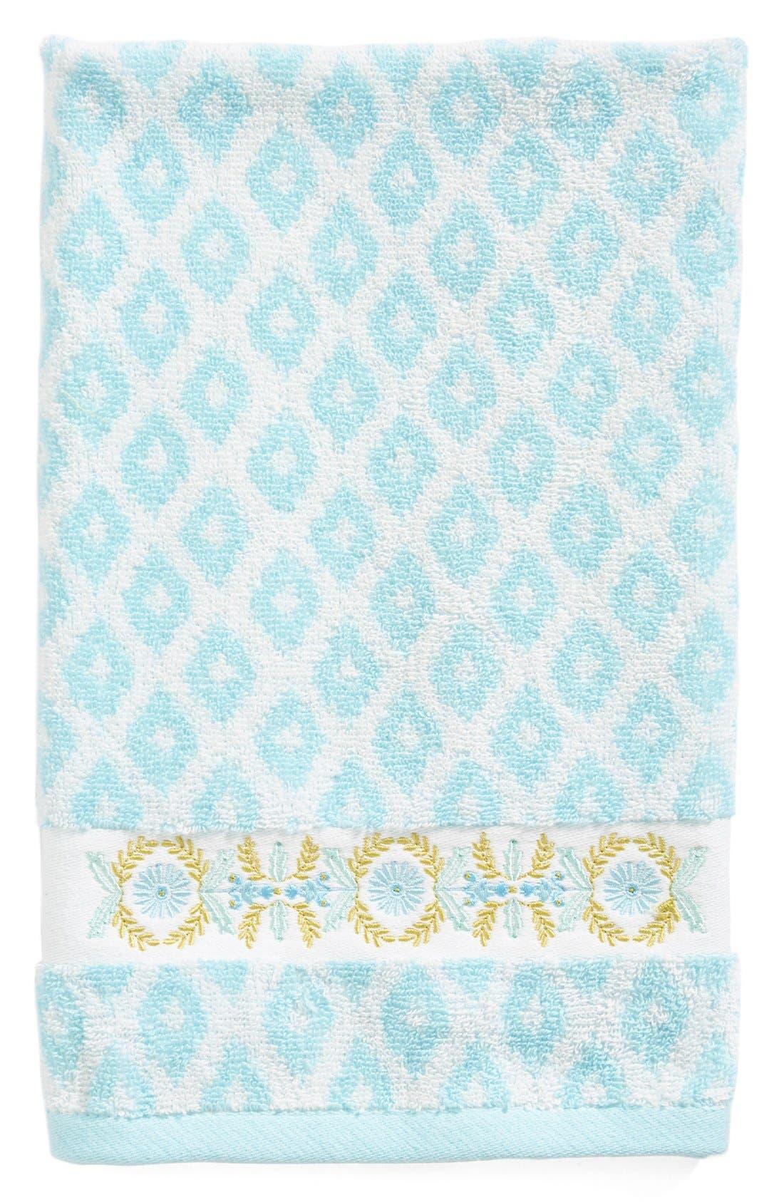 Alternate Image 1 Selected - Dena Home Diamond Jacquard Bath Towel