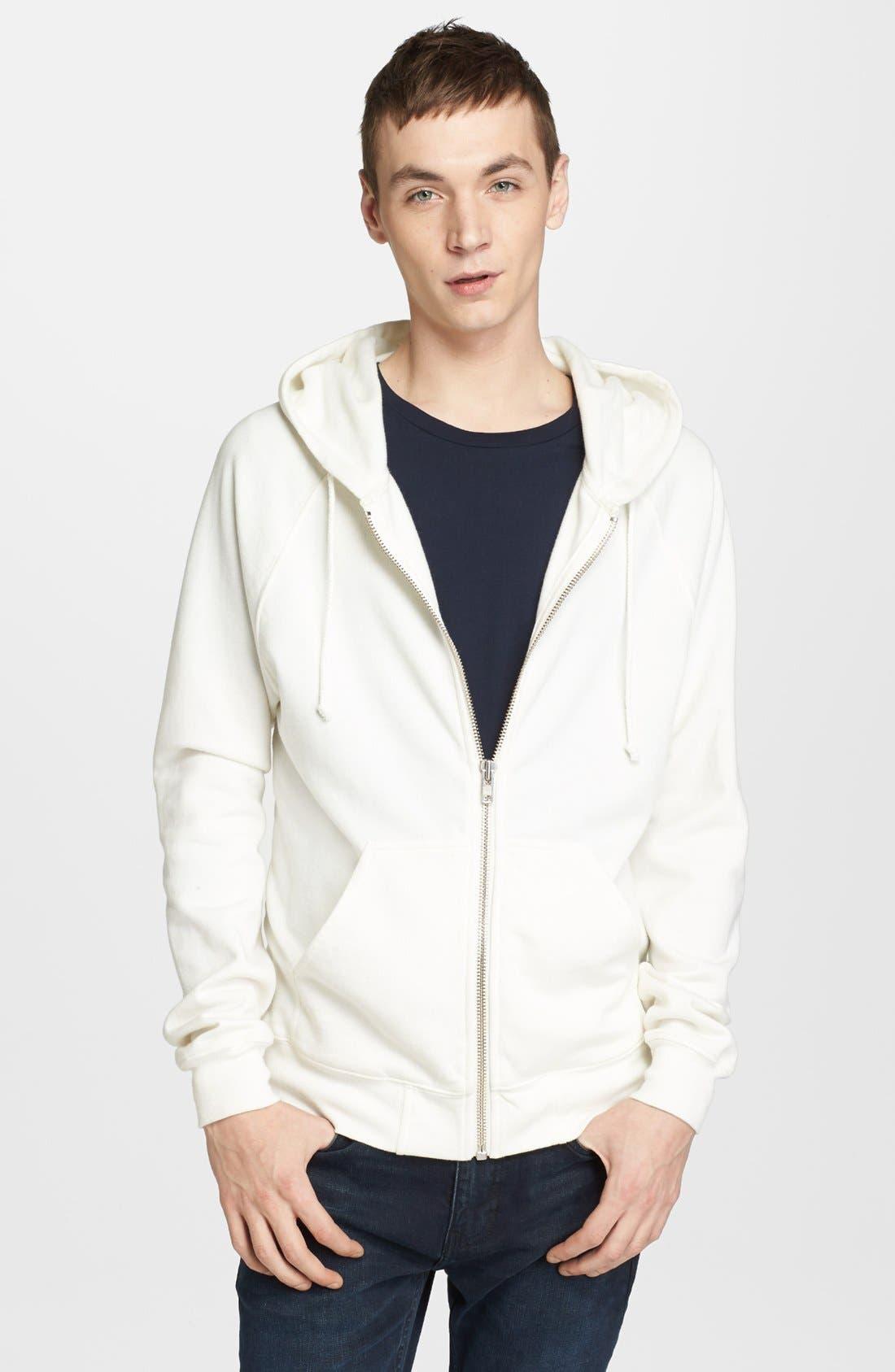 Main Image - BLK DNM 'Sweatshirt 3' Zip Hoodie