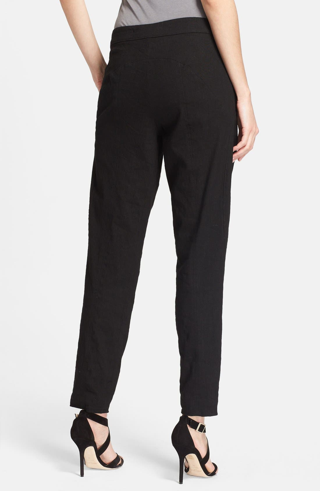 Alternate Image 2  - Donna Karan Collection Washed Canvas Crop Pants