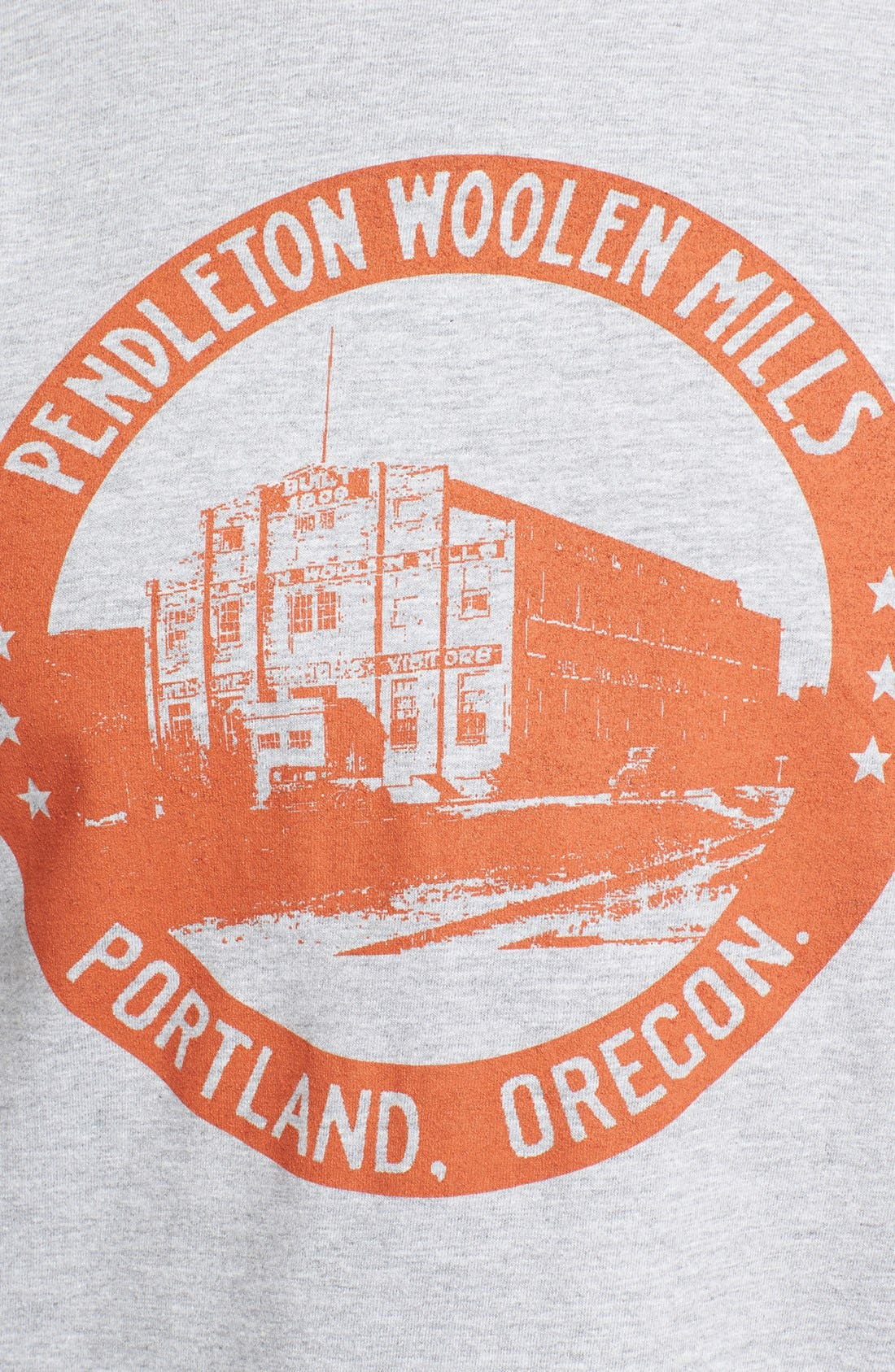 Alternate Image 3  - Pendleton Portland Collection 'Mill' Crewneck T-Shirt