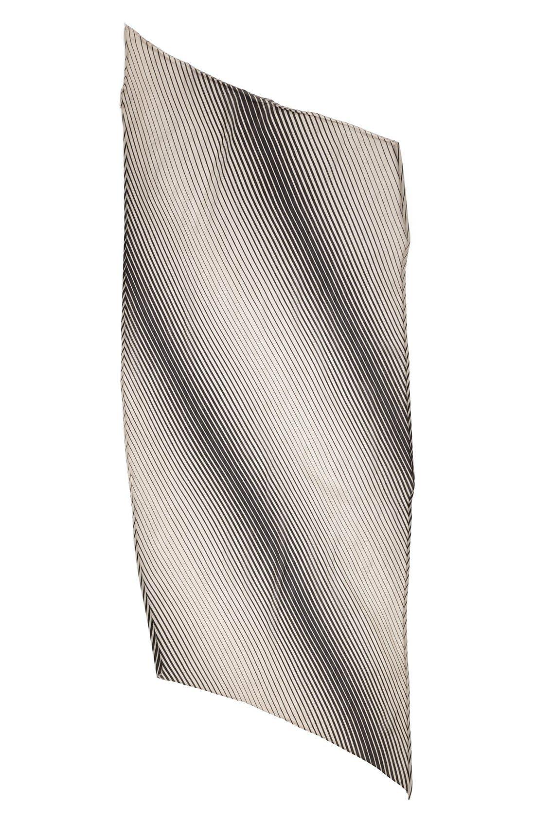 Alternate Image 2  - Nordstrom Optic Stripe Scarf