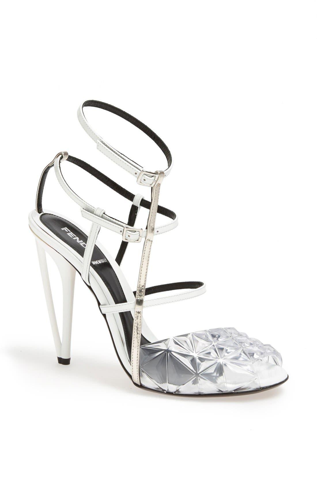 Alternate Image 1 Selected - Fendi 'Iridia' Sandal