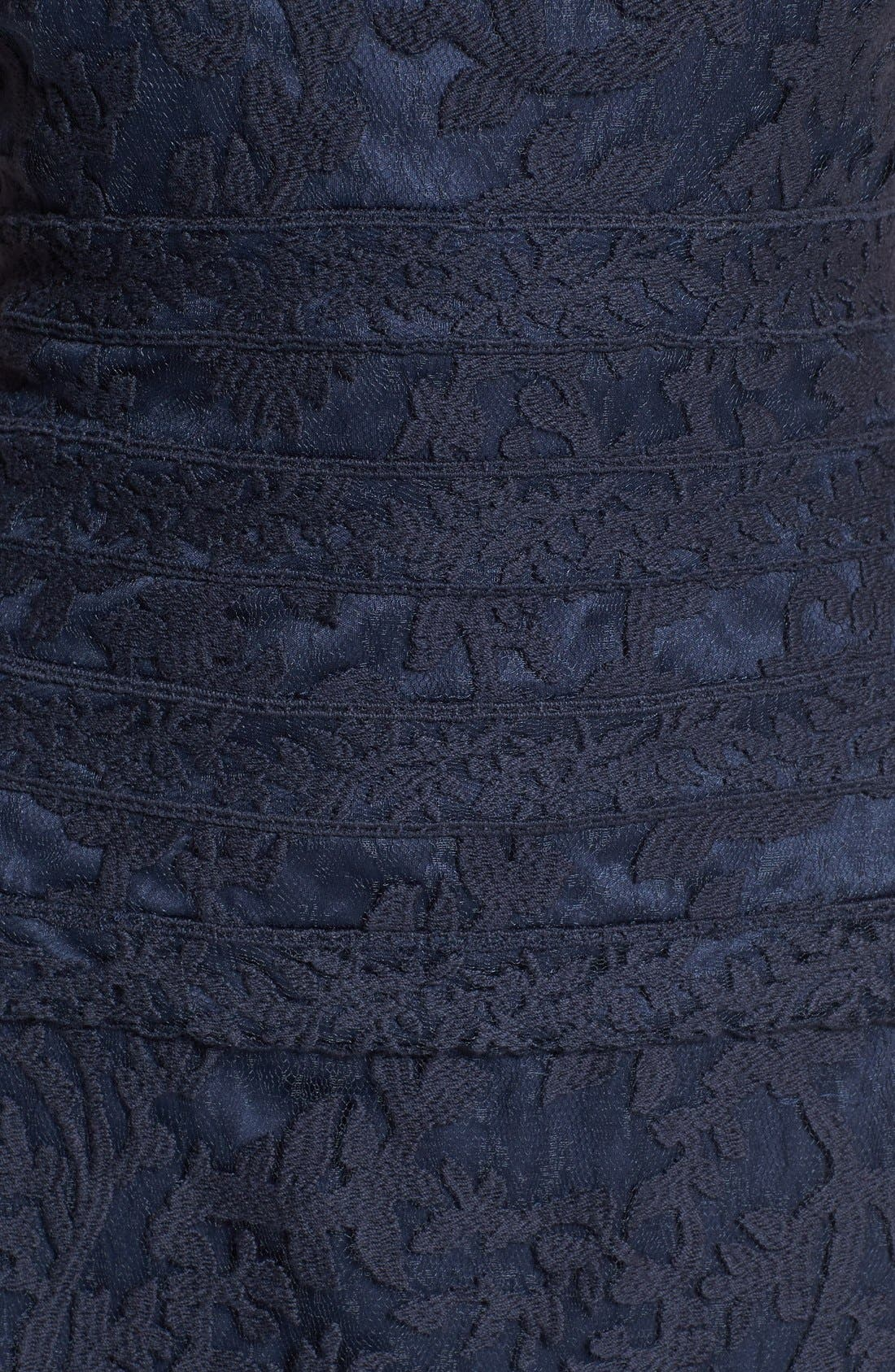 Alternate Image 3  - Tadashi Shoji Embroidered Lace Gown