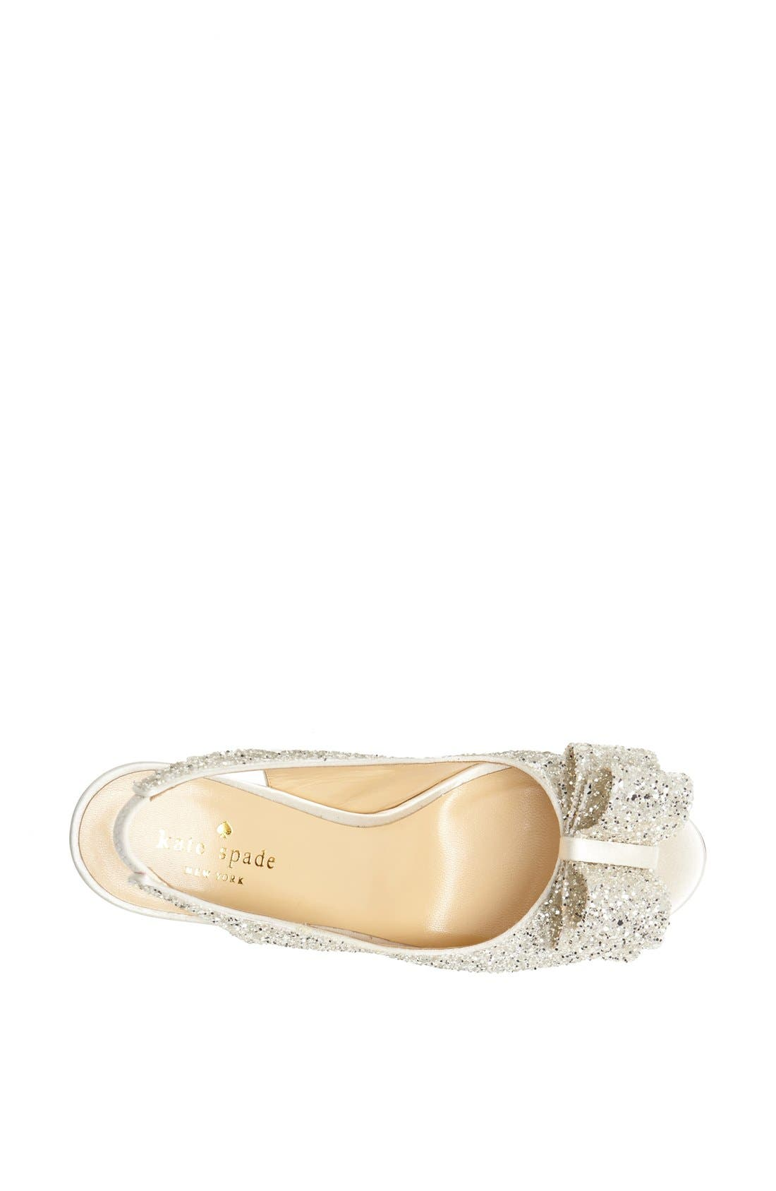Alternate Image 3  - kate spade new york 'charm' slingback pump