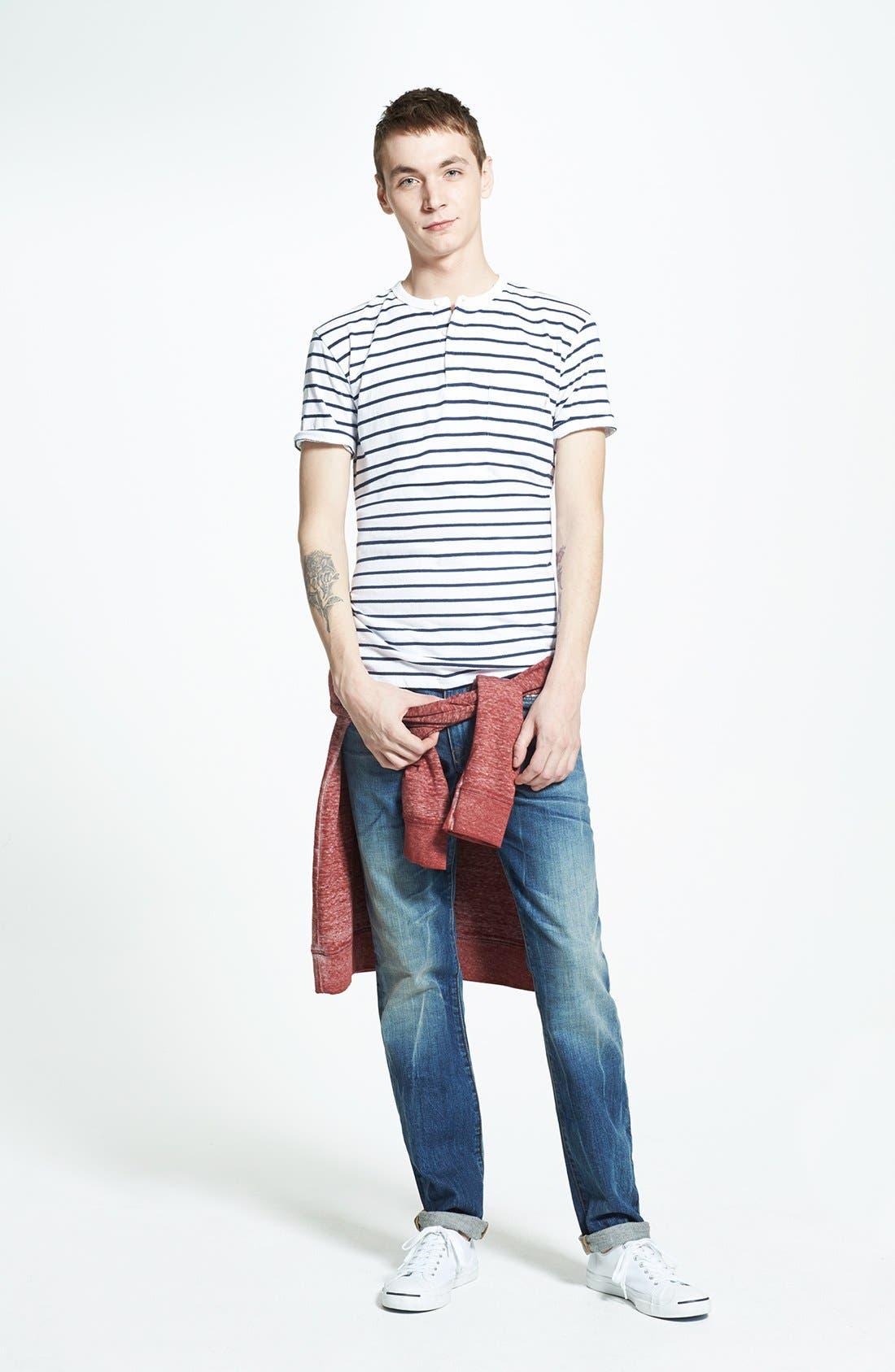 Alternate Image 5  - Joe's 'Brixton' Slim Fit Jeans (Samir)