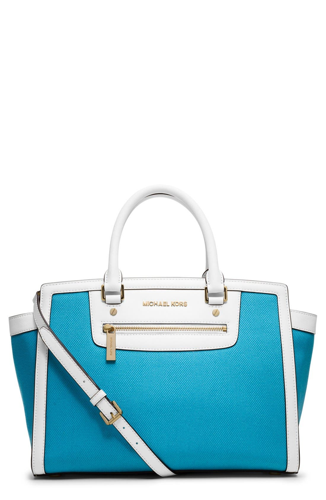 Alternate Image 1 Selected - MICHAEL Michael Kors 'Large Selma' Satchel