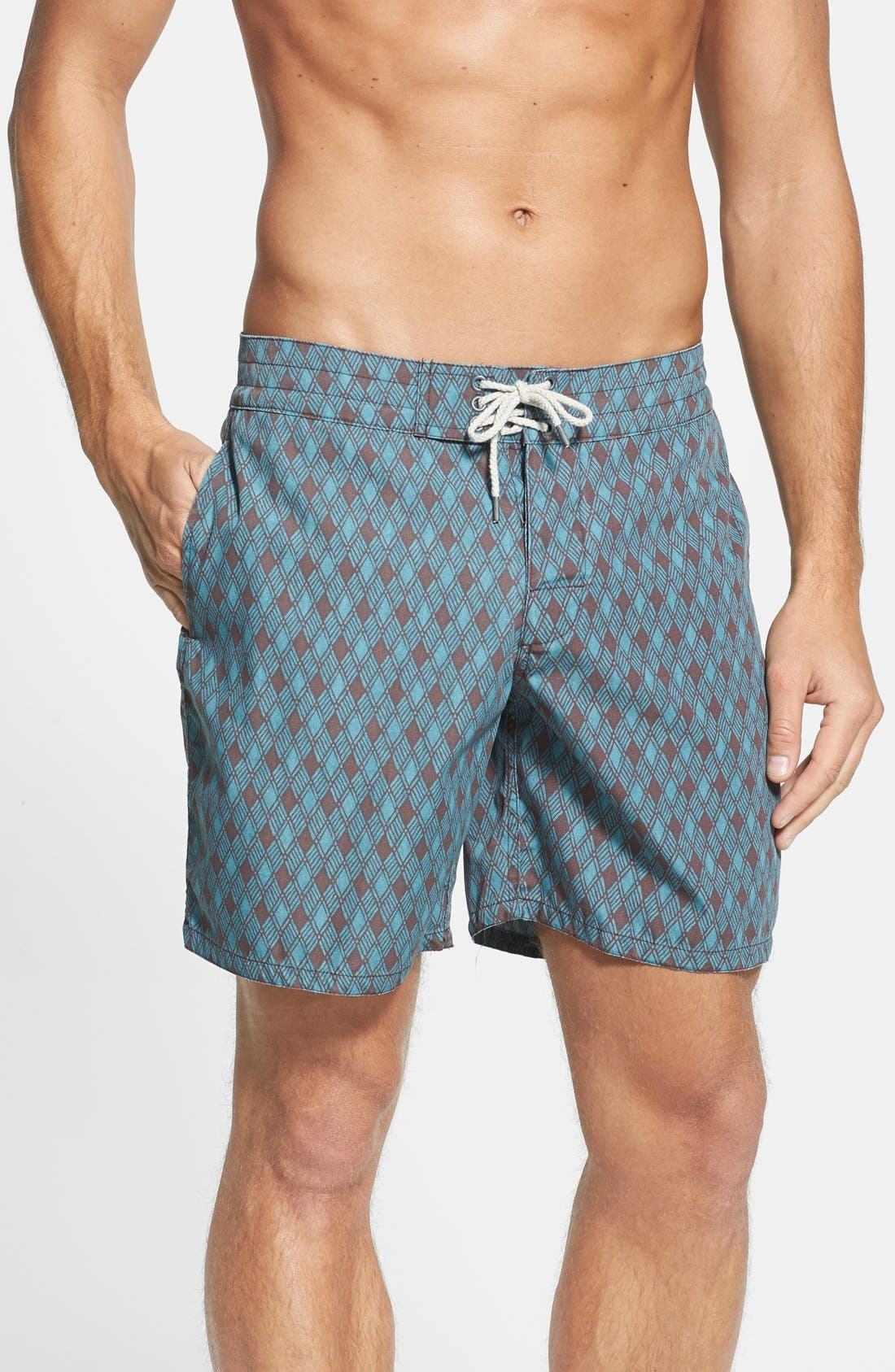 Alternate Image 1 Selected - Faherty 'Classic' Board Shorts