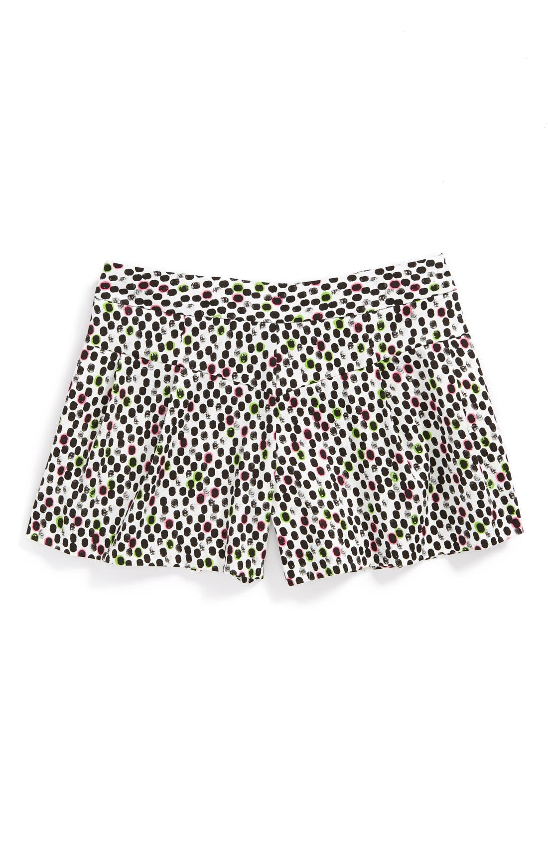 Alternate Image 1 Selected - Milly Minis 'Ocelot' Shorts (Big Girls)