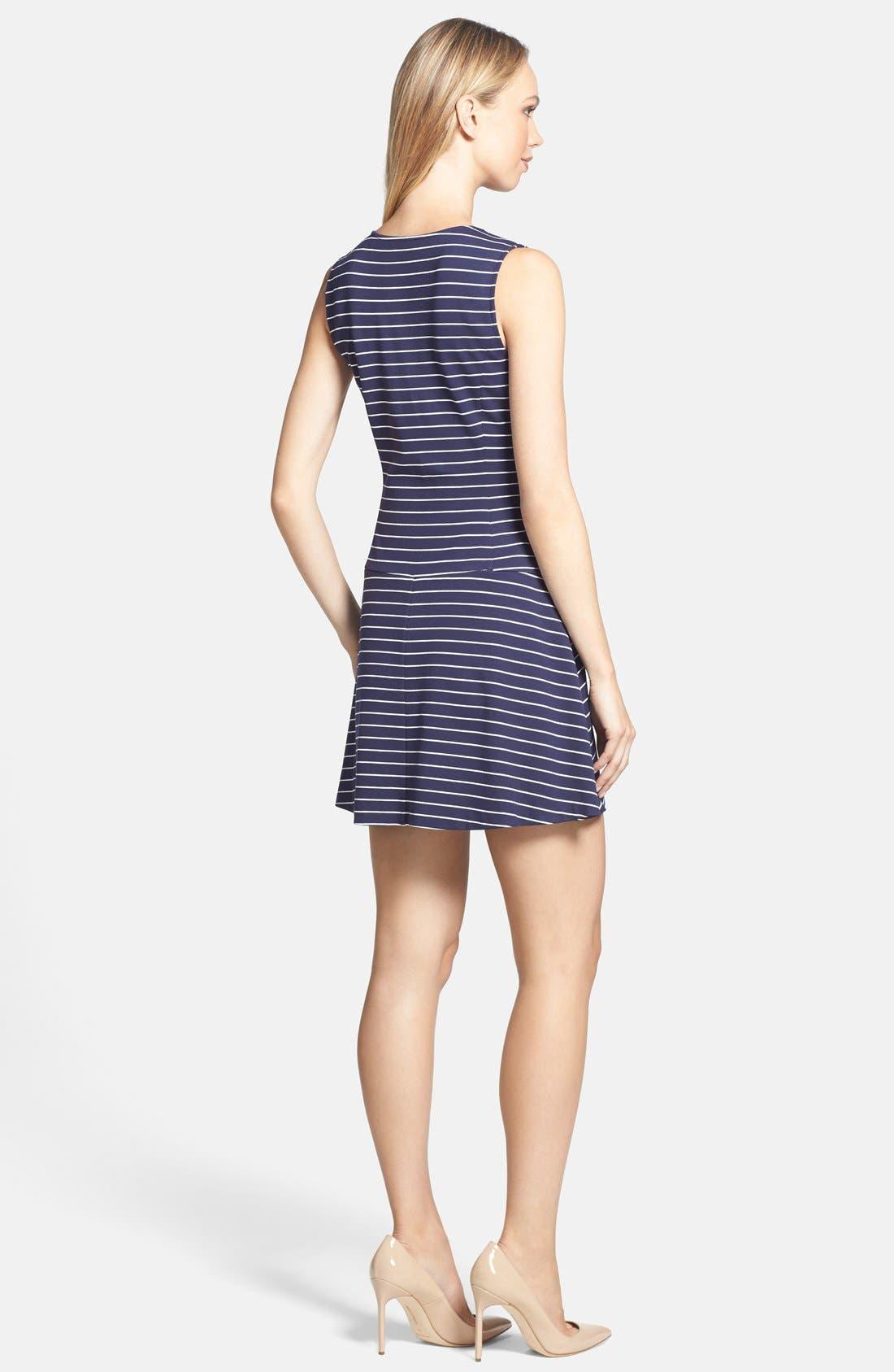 Alternate Image 2  - Theory 'Sayidres' Knit Fit & Flare Dress