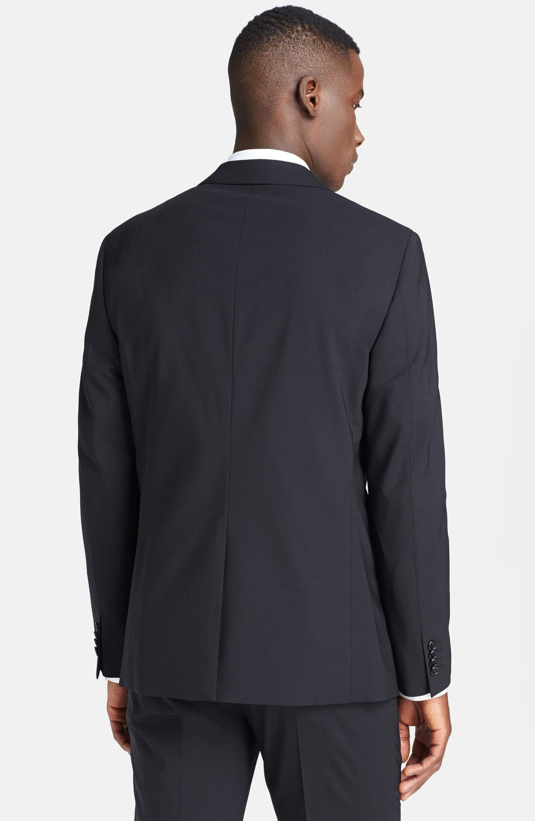 Alternate Image 2  - Theory 'Wellar New Tailor' Trim Fit Wool Blend Sport Coat