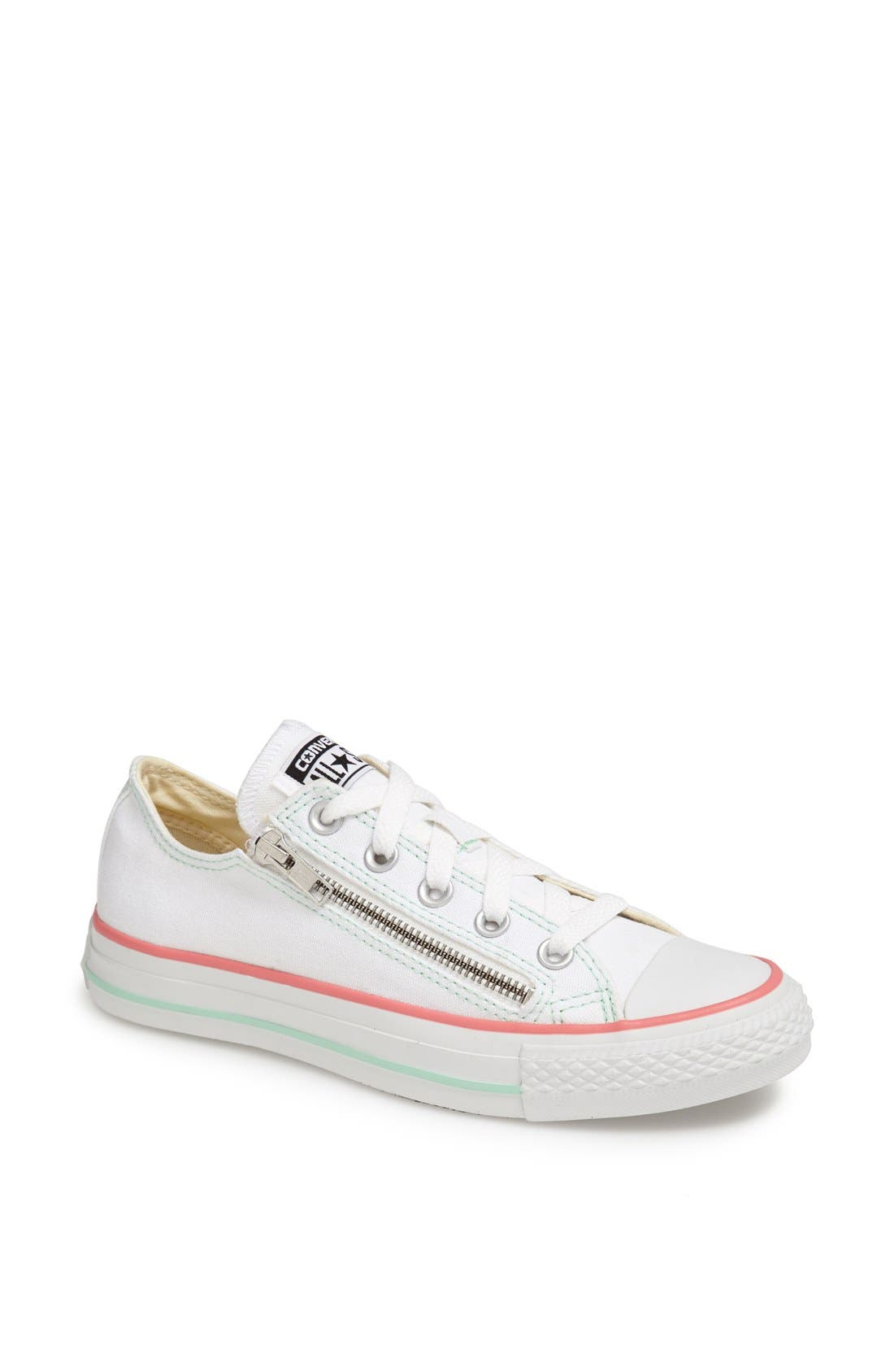 Alternate Image 1 Selected - Converse Chuck Taylor® All Star® Double Zip Low Sneaker (Women)