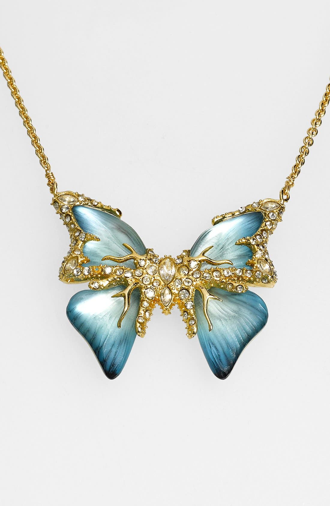 Alternate Image 1 Selected - Alexis Bittar 'Lucite® - Jardin Mystère' Butterfly Pendant Necklace