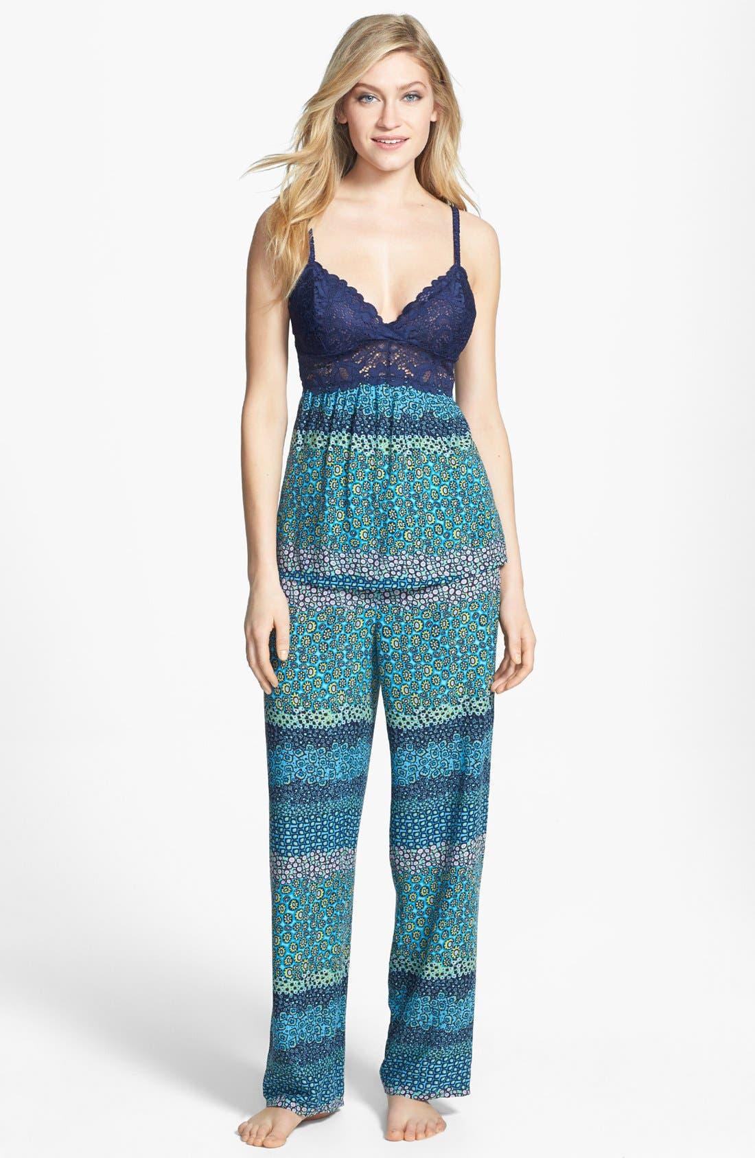 Alternate Image 1 Selected - Josie 'Daisy Floral' Camisole Pajamas
