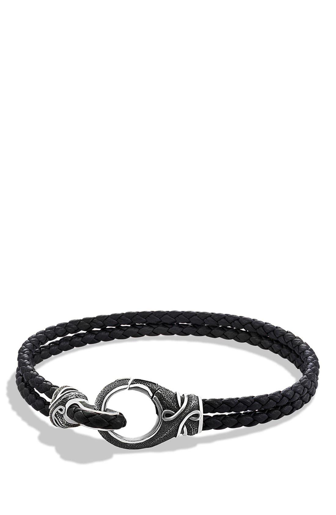 Alternate Image 1 Selected - David Yurman 'Armory' Two-Row Bracelet