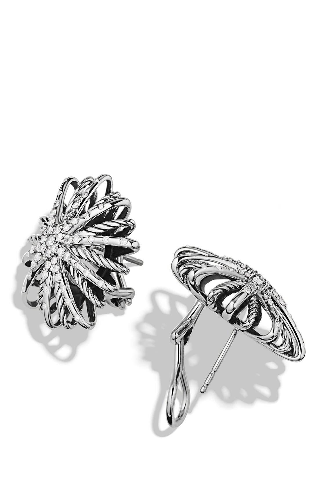 Alternate Image 2  - David Yurman 'Starburst' Earrings with Diamonds