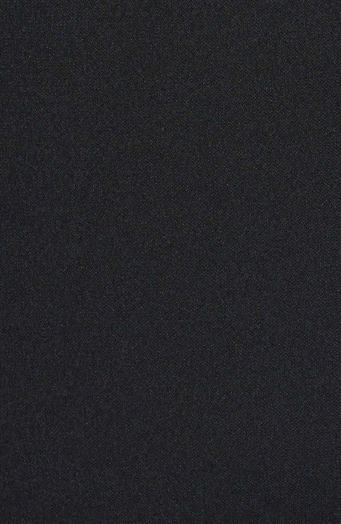 Alternate Image 3  - DKNYC Chiffon Overlay Dress (Plus Size)