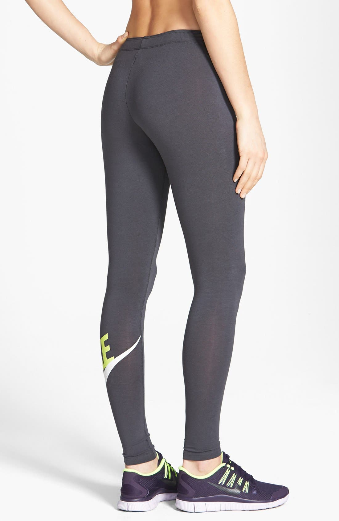 Alternate Image 2  - Nike 'Leg-A-See Signal' Leggings