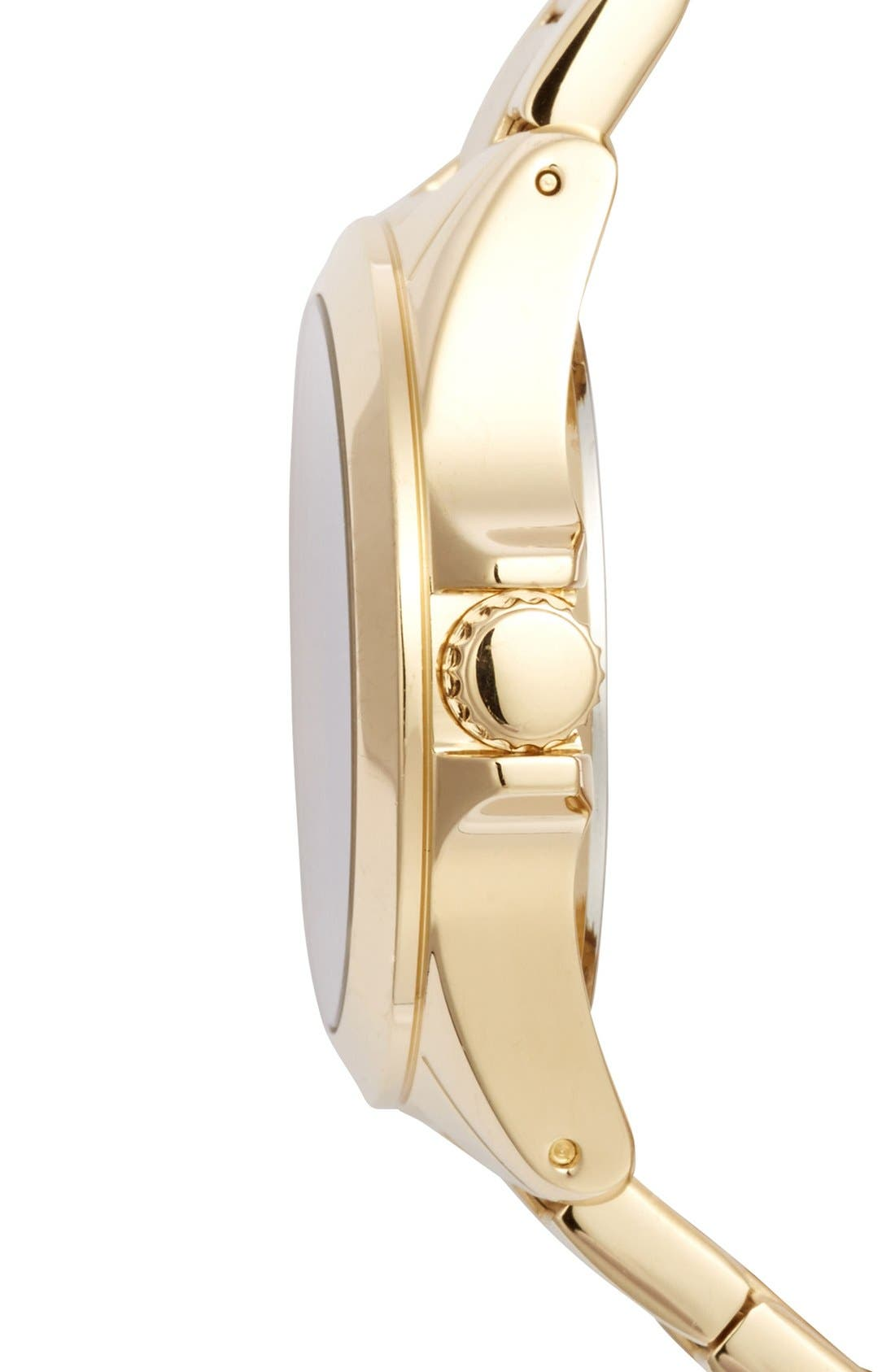 Alternate Image 3  - Juicy Couture 'Stella' Crystal Index Round Bracelet Watch, 36mm