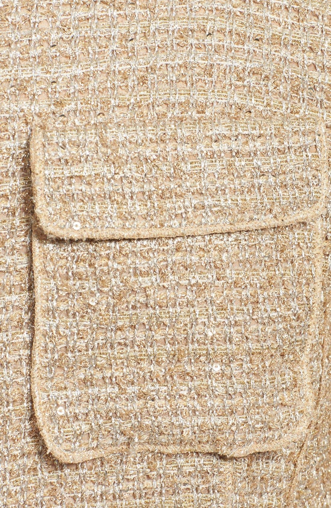 Alternate Image 4  - Nina Ricci Contrast Back Tweed Jacket